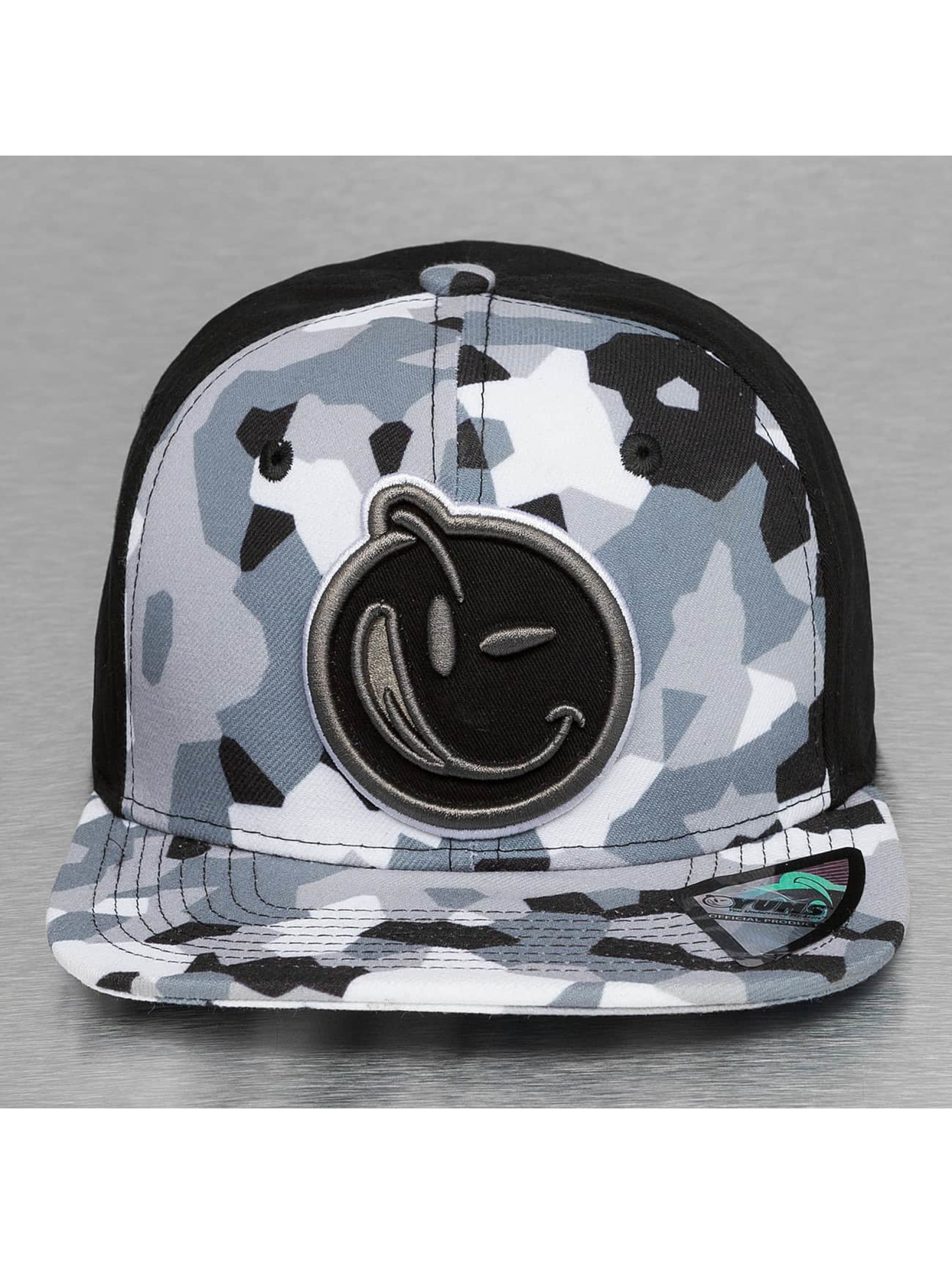 Yums Casquette Snapback & Strapback Classic Concealed gris