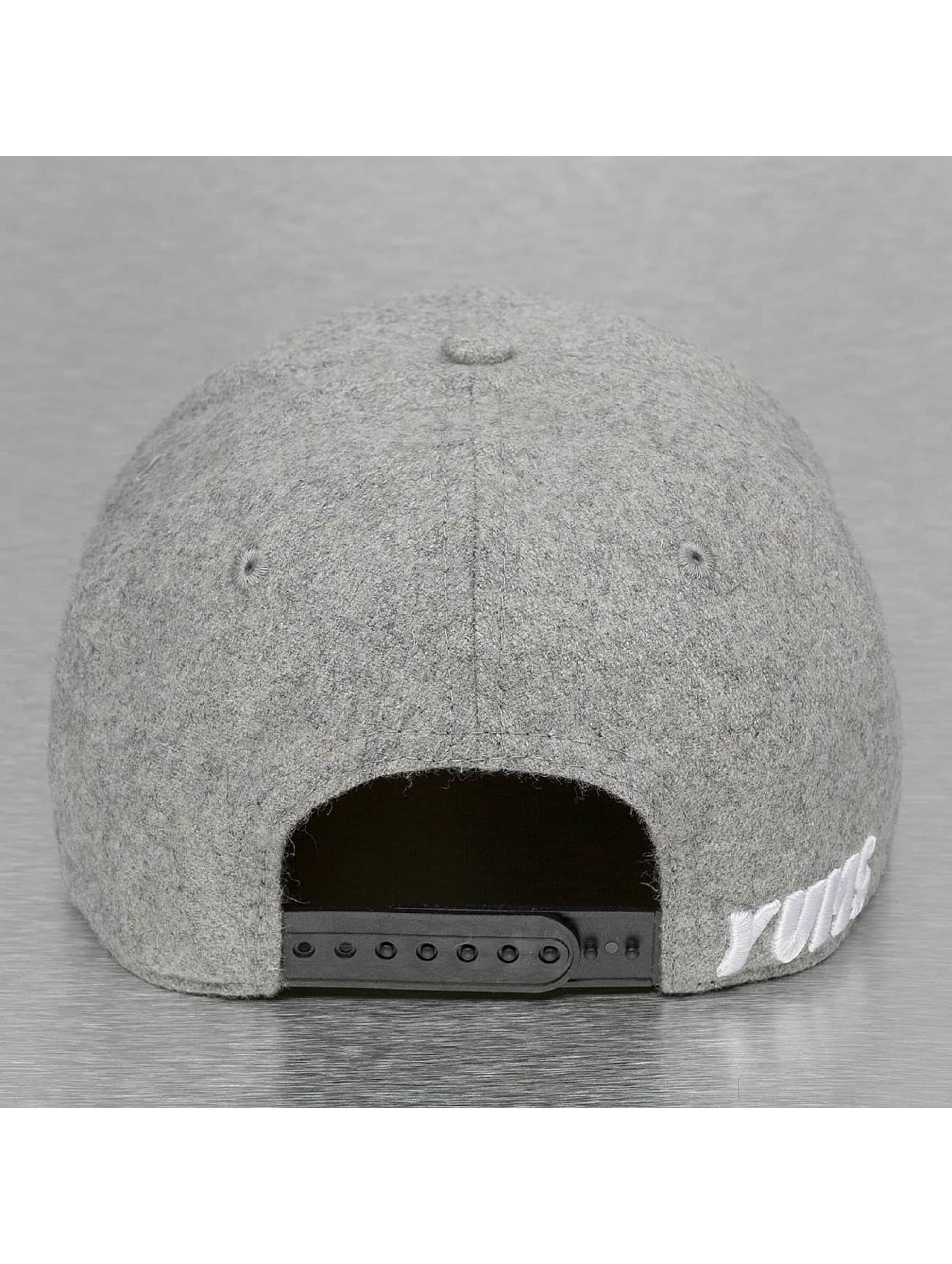 Yums Snapback Cap Melton grey