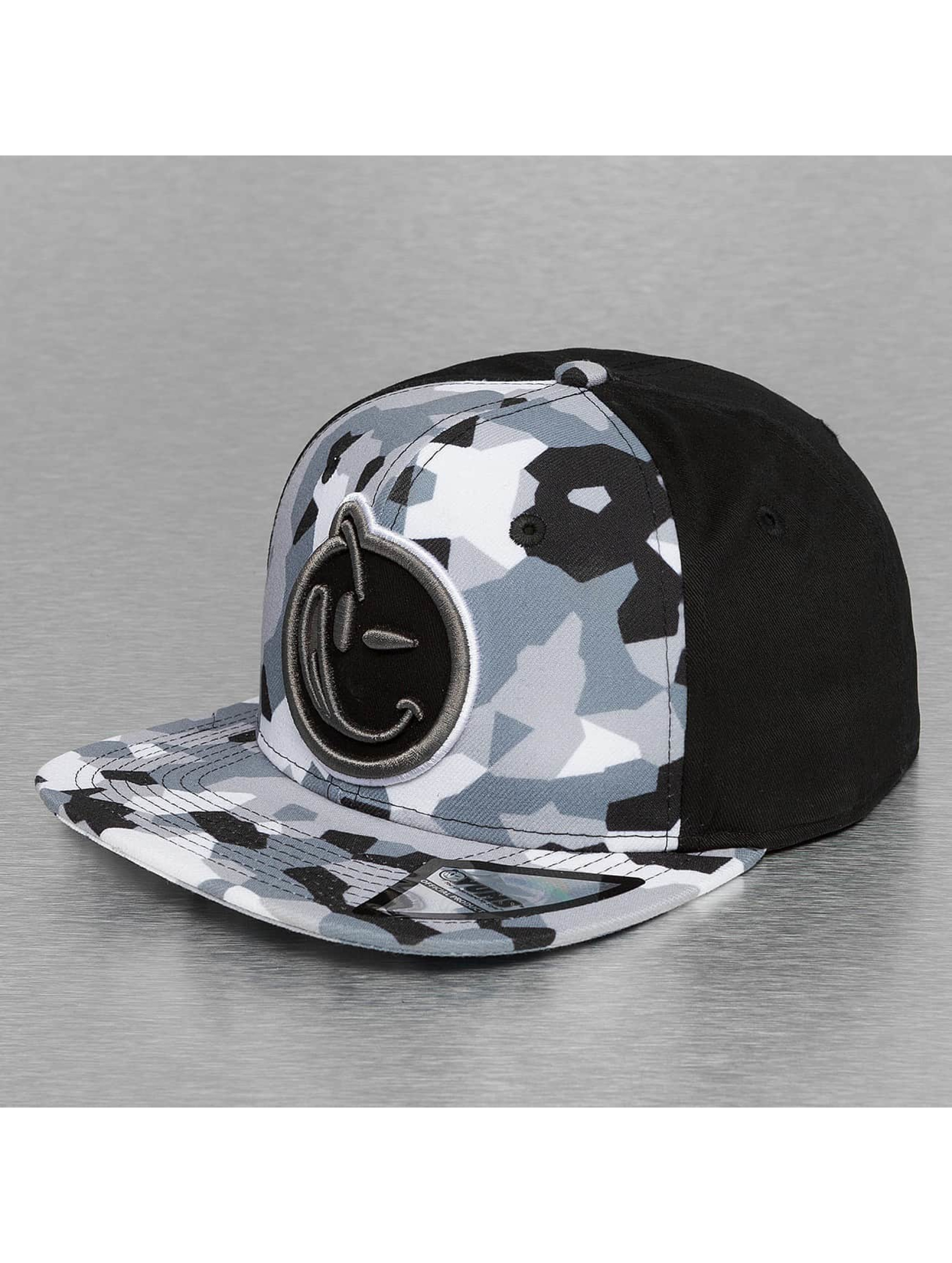 Yums Snapback Cap Classic Concealed grigio