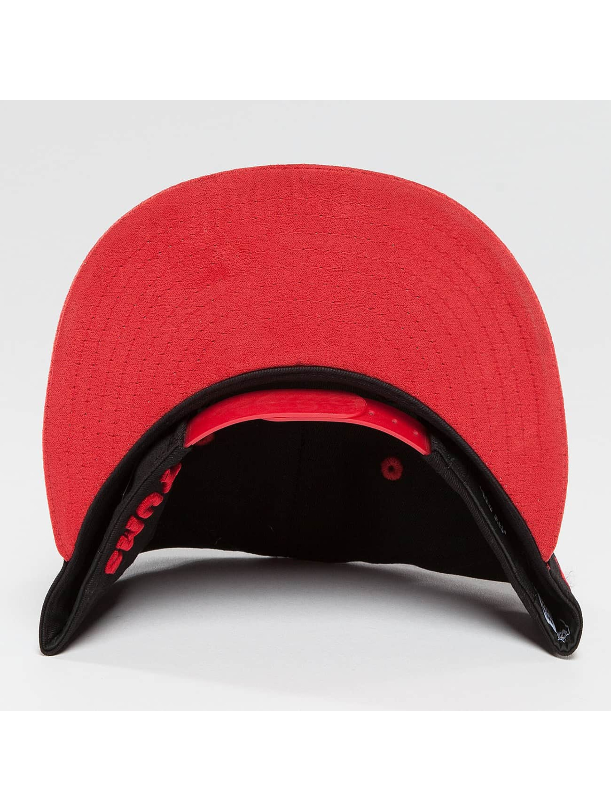 Yums Snapback Cap Classic Suede Outline schwarz