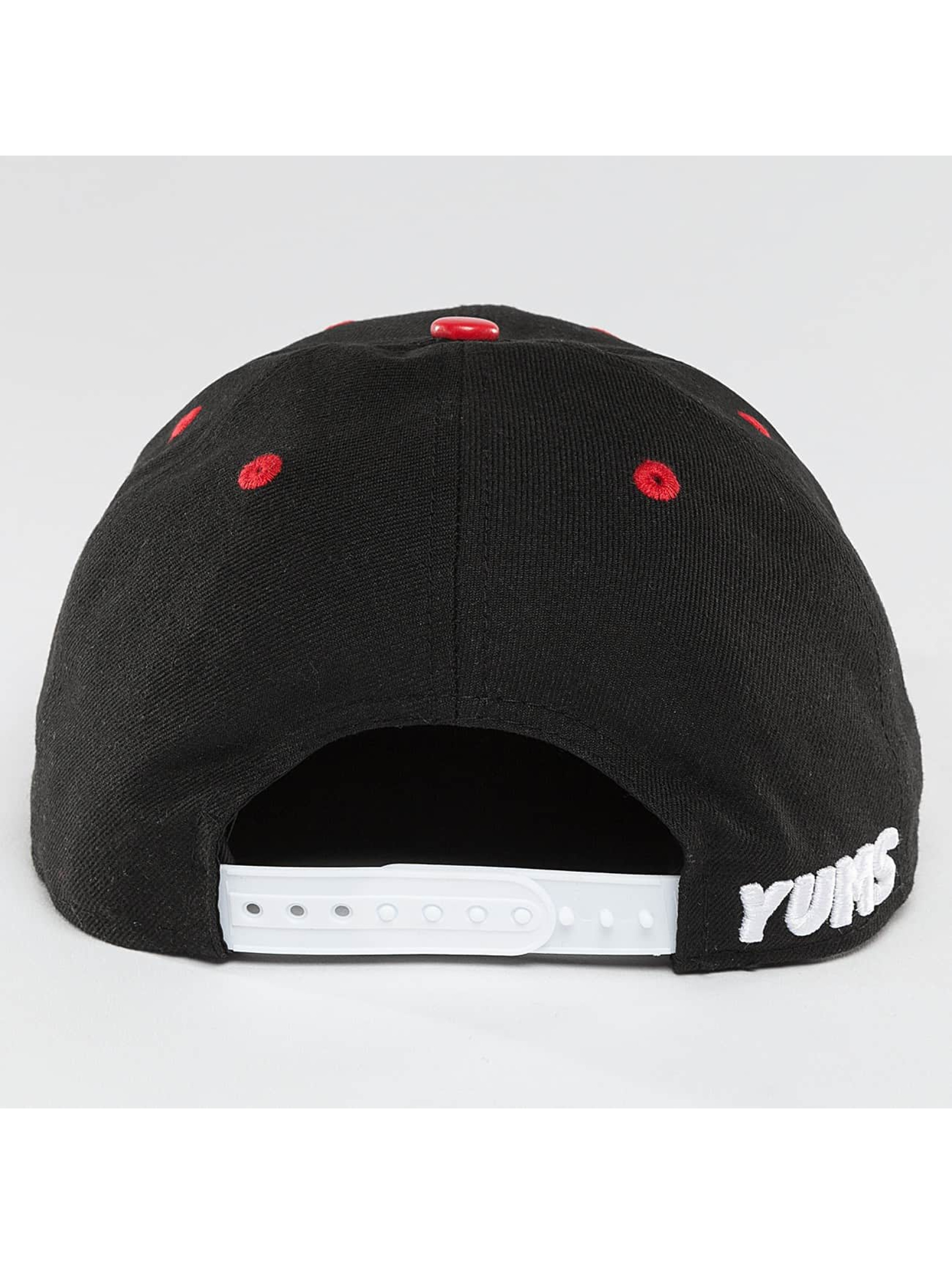 Yums Snapback Caps Ballistic Thinking d čern