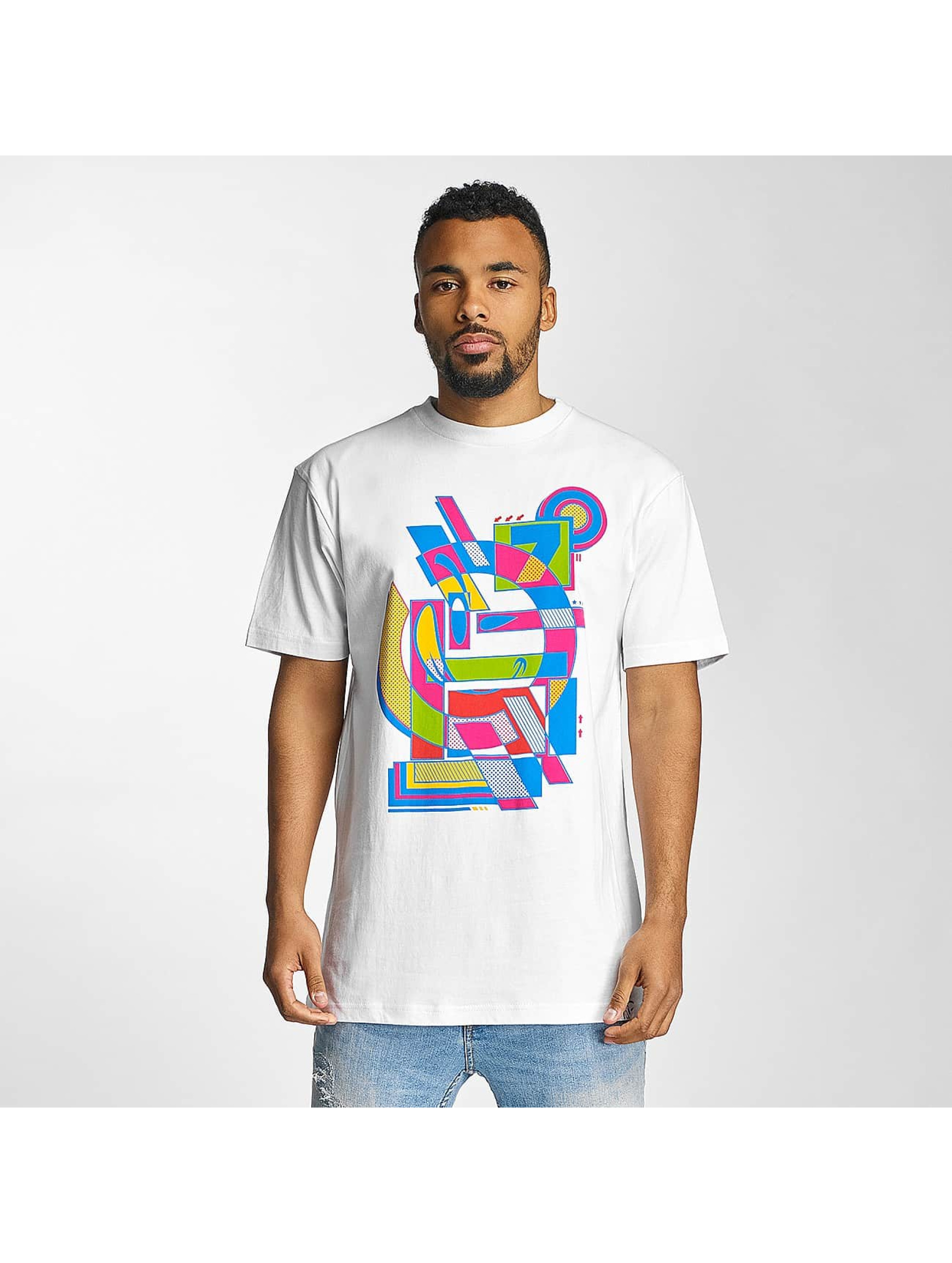 Yums t-shirt Abstract II wit