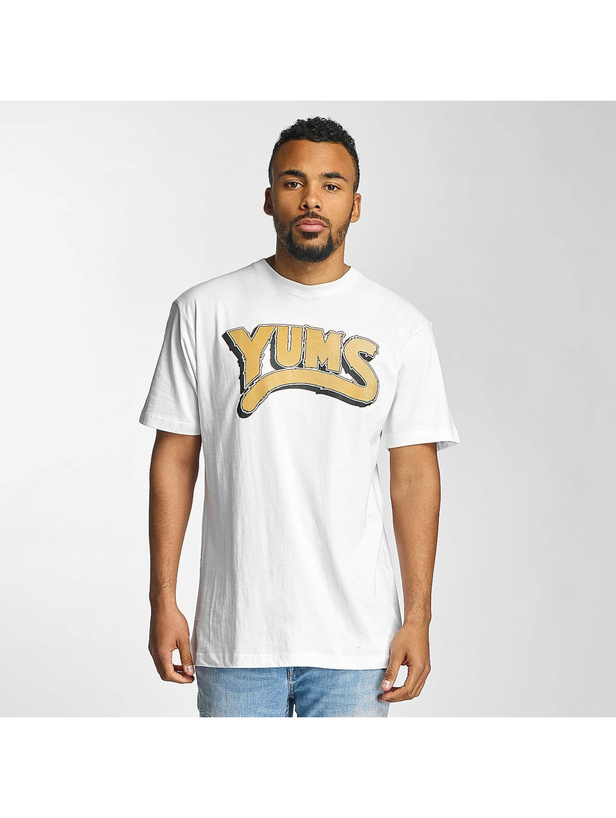 Yums T-skjorter Oh My Lion hvit