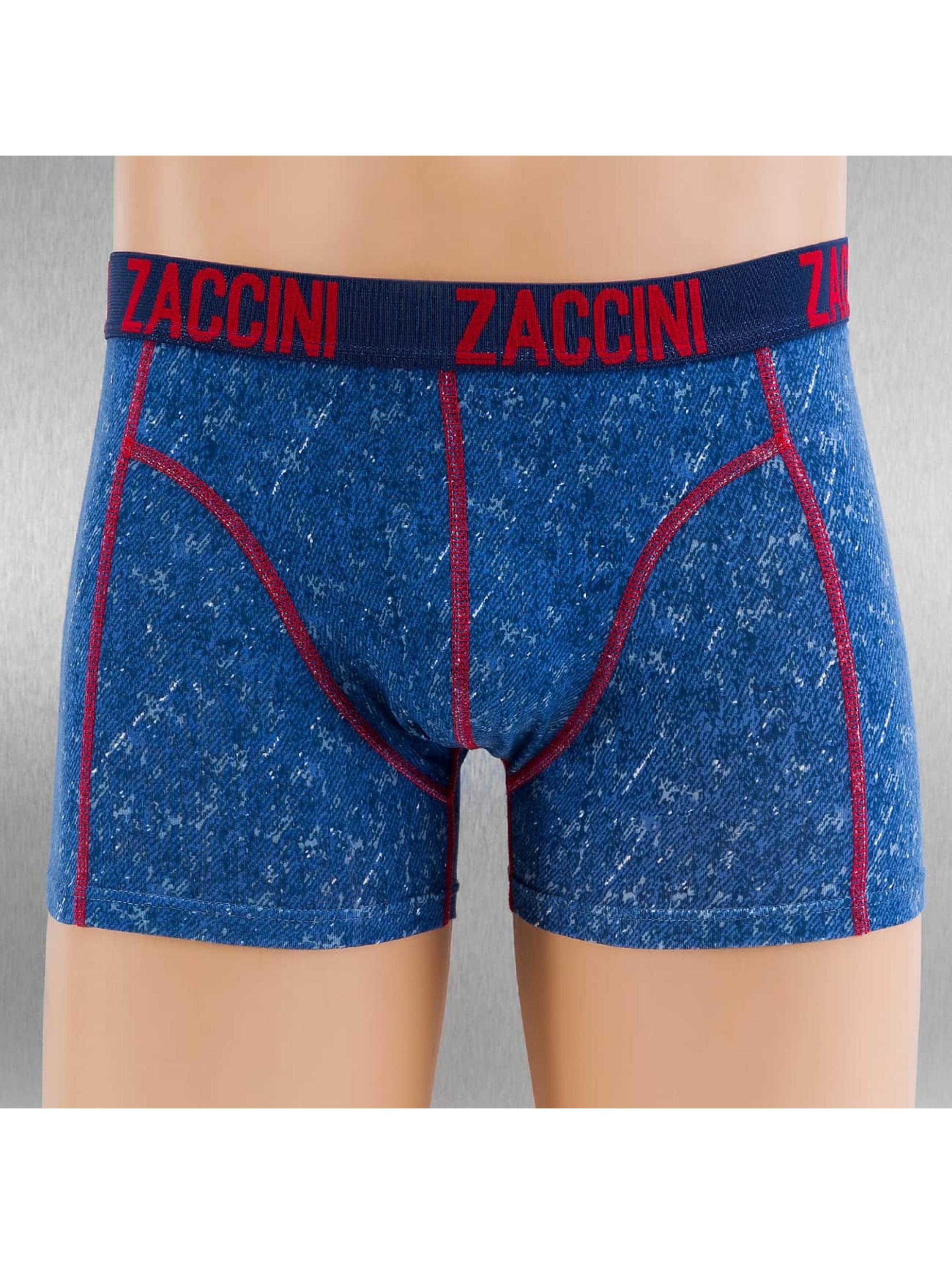 Zaccini  Shorts boxeros Denim 2-Pack azul