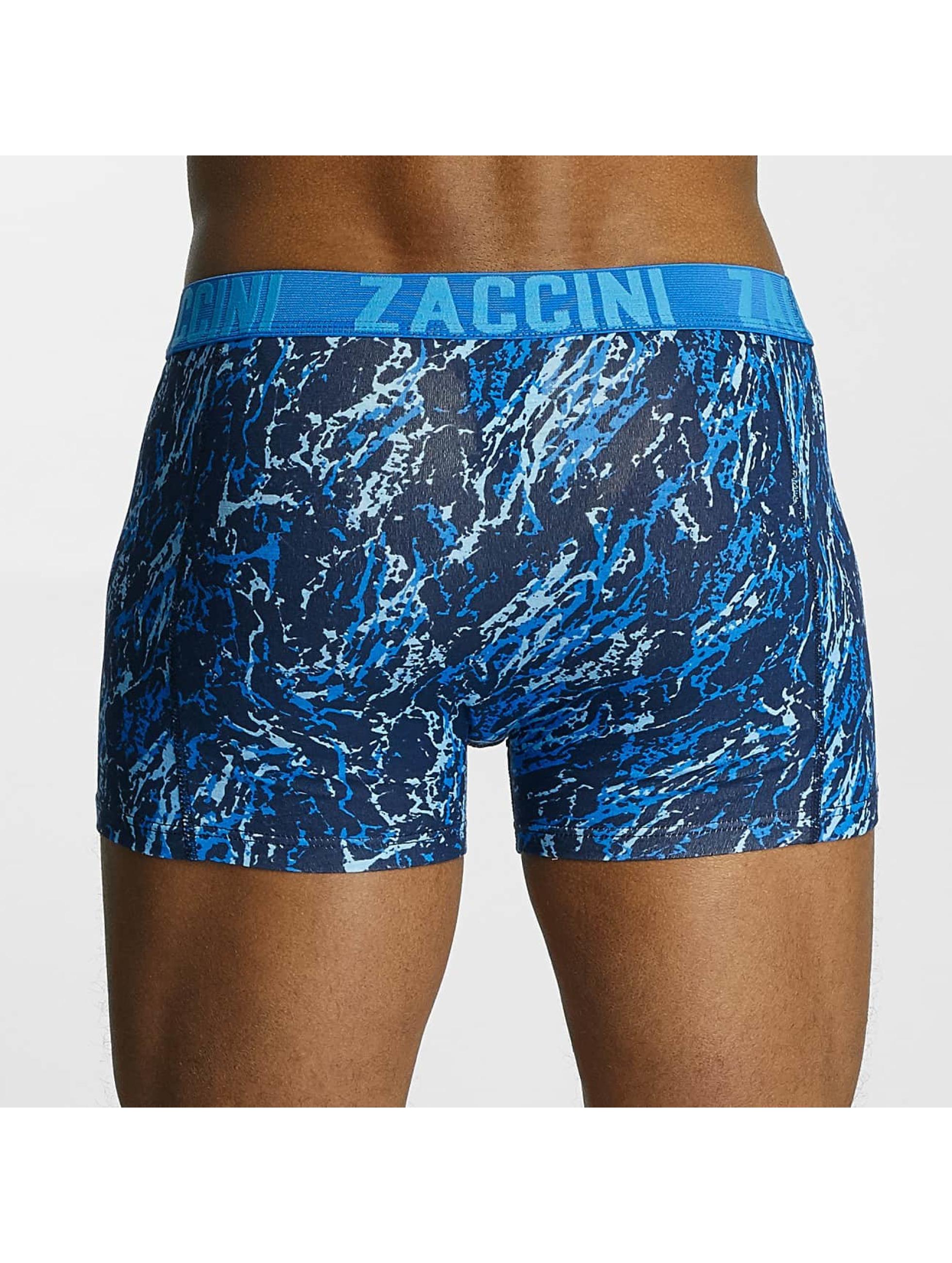 Zaccini  Shorts boxeros Mineral azul