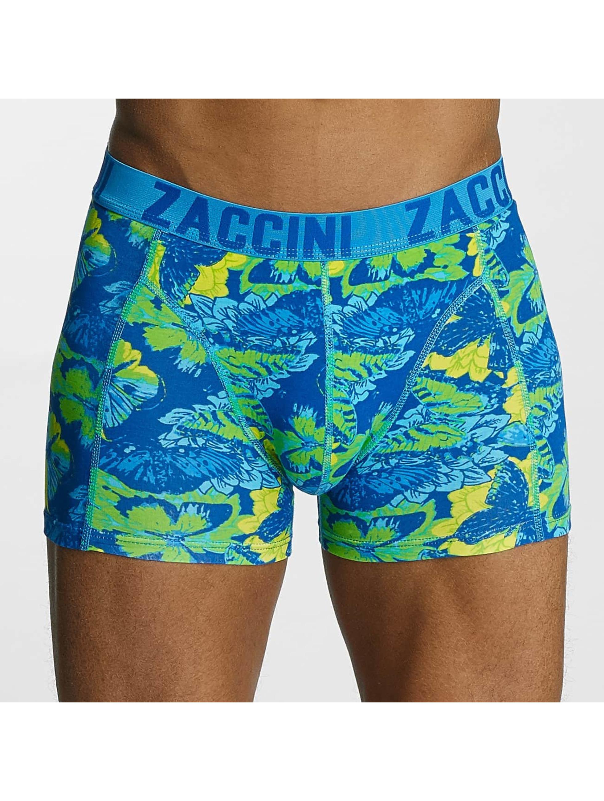 Zaccini  Shorts boxeros Summer Butterfly azul