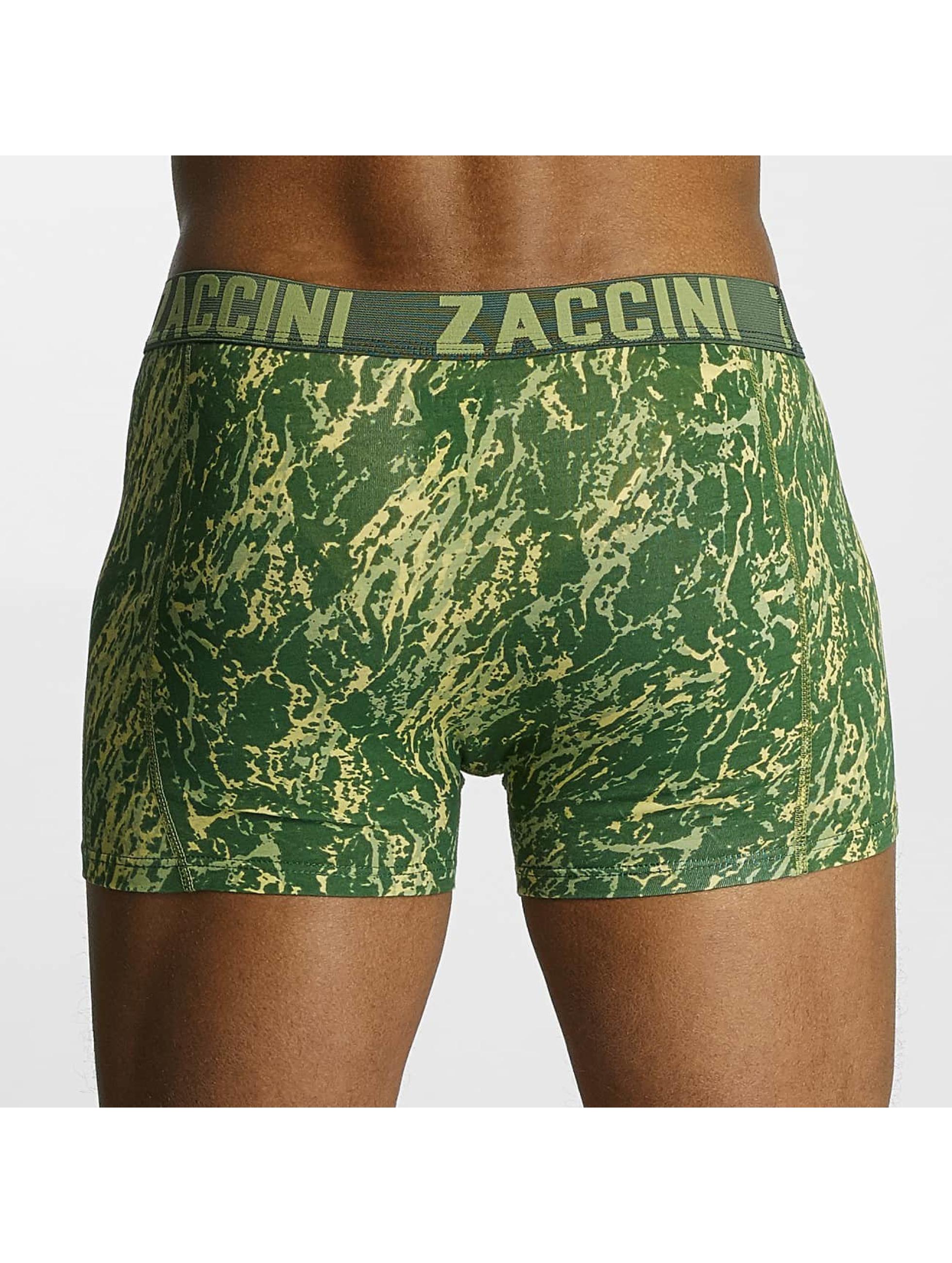 Zaccini  Shorts boxeros Mineral verde