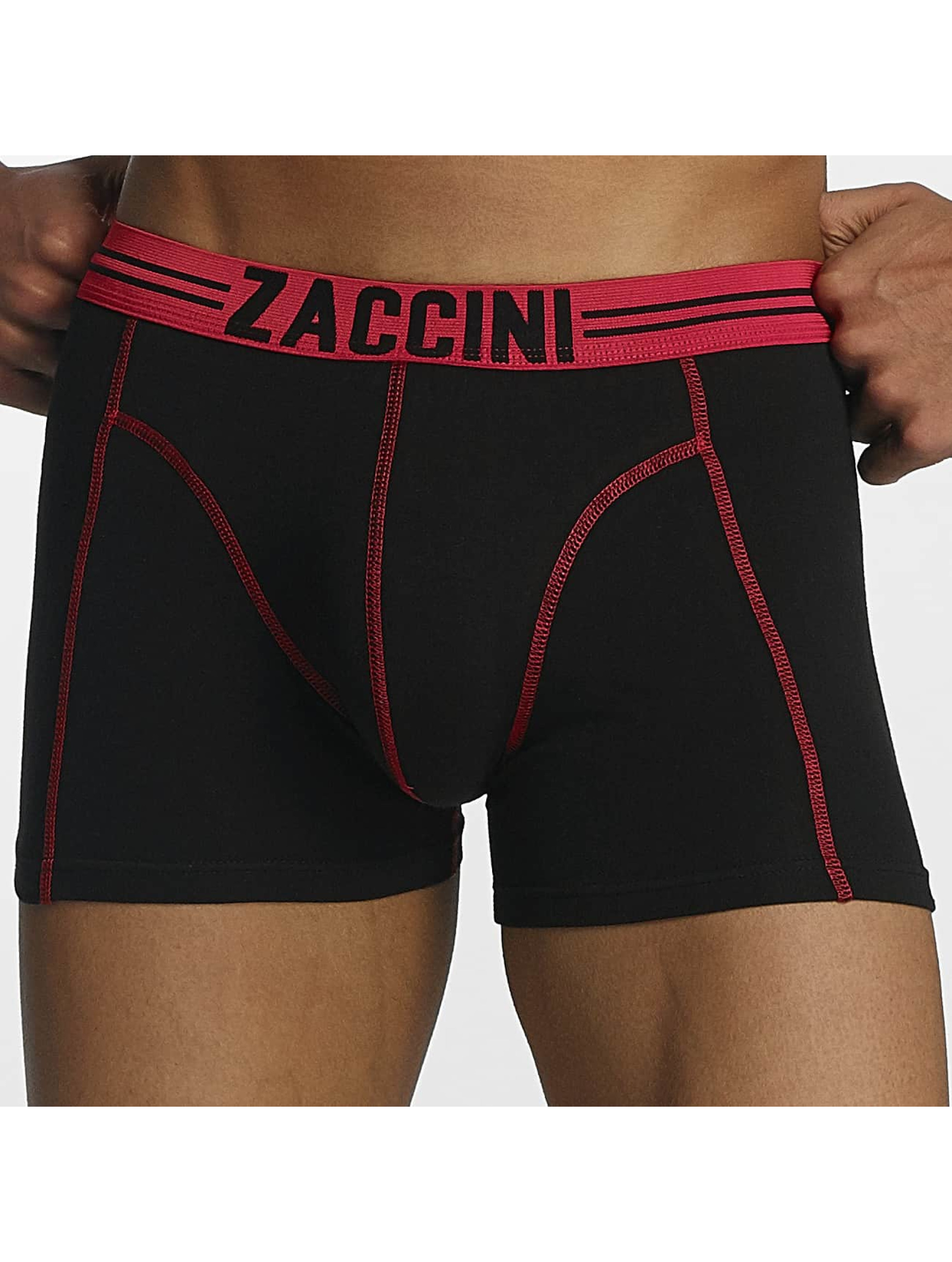 Zaccini Boksershorts Stripe 2-Pack red