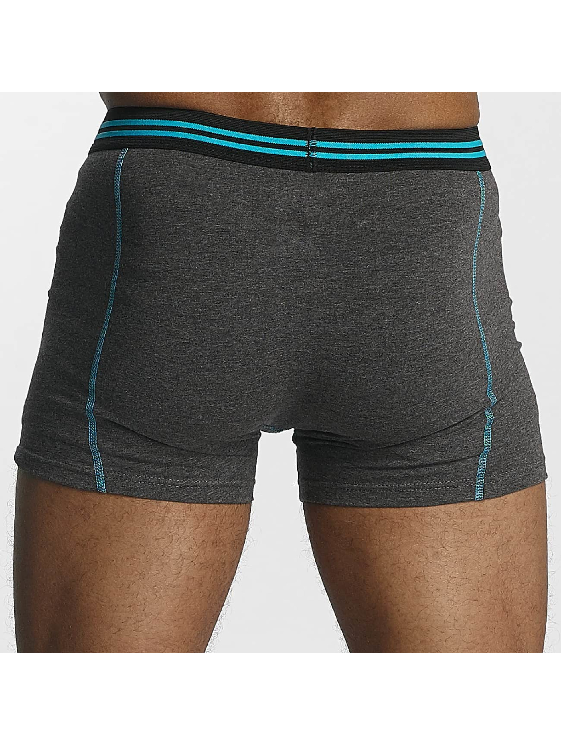 Zaccini Boxer Short Uni 2-Pack gray