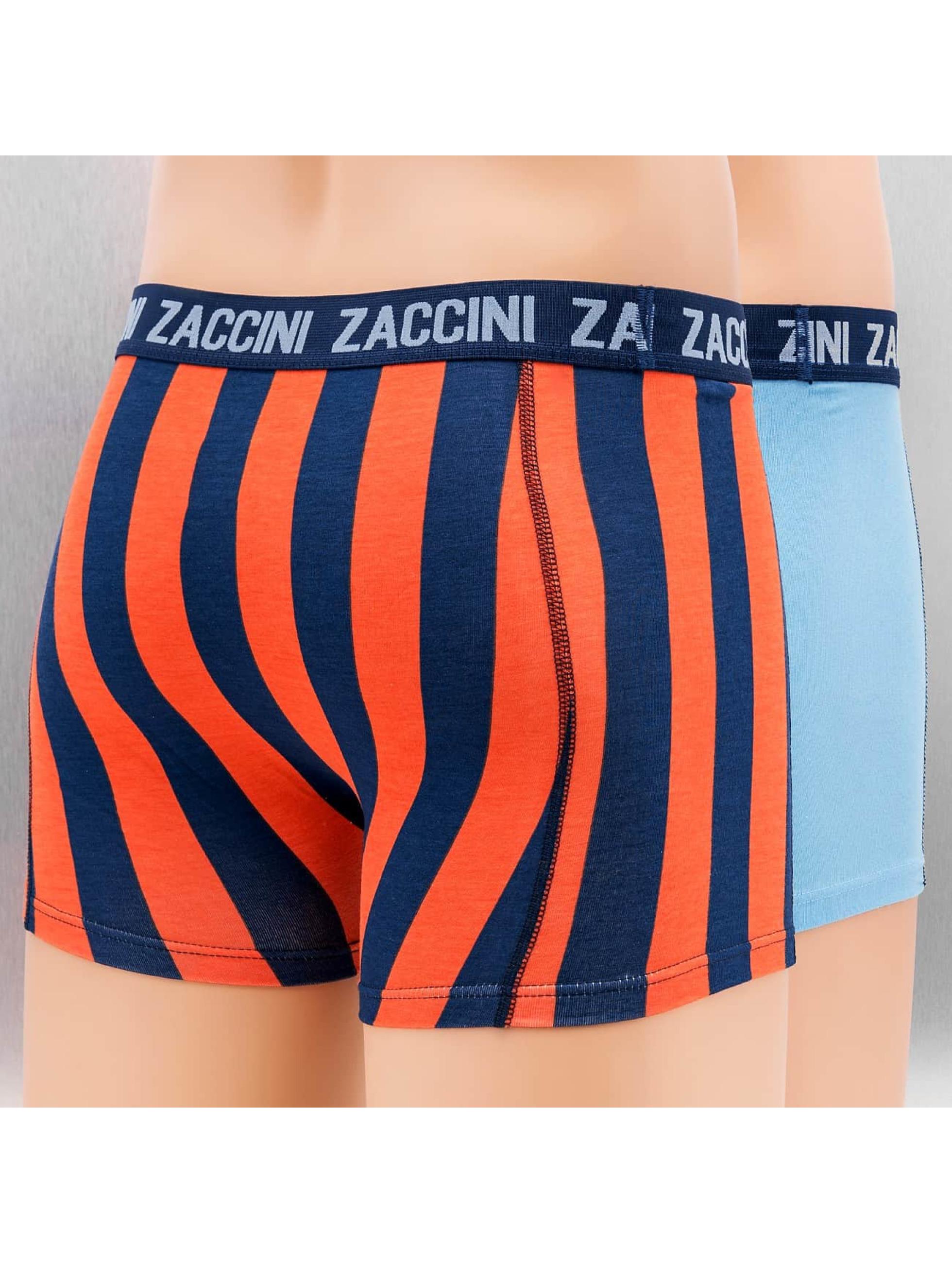 Zaccini boxershorts Marrakesh 2-Pack blauw