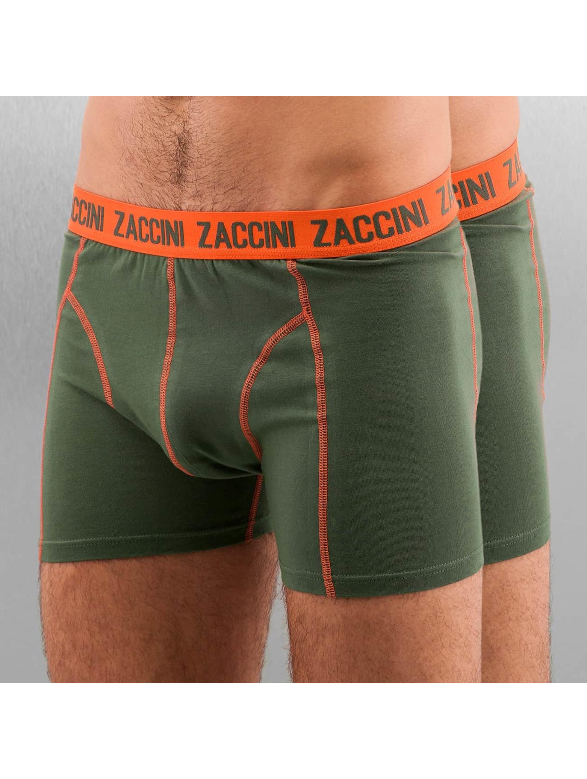 Zaccini Boxershorts Uni 2-Pack olive