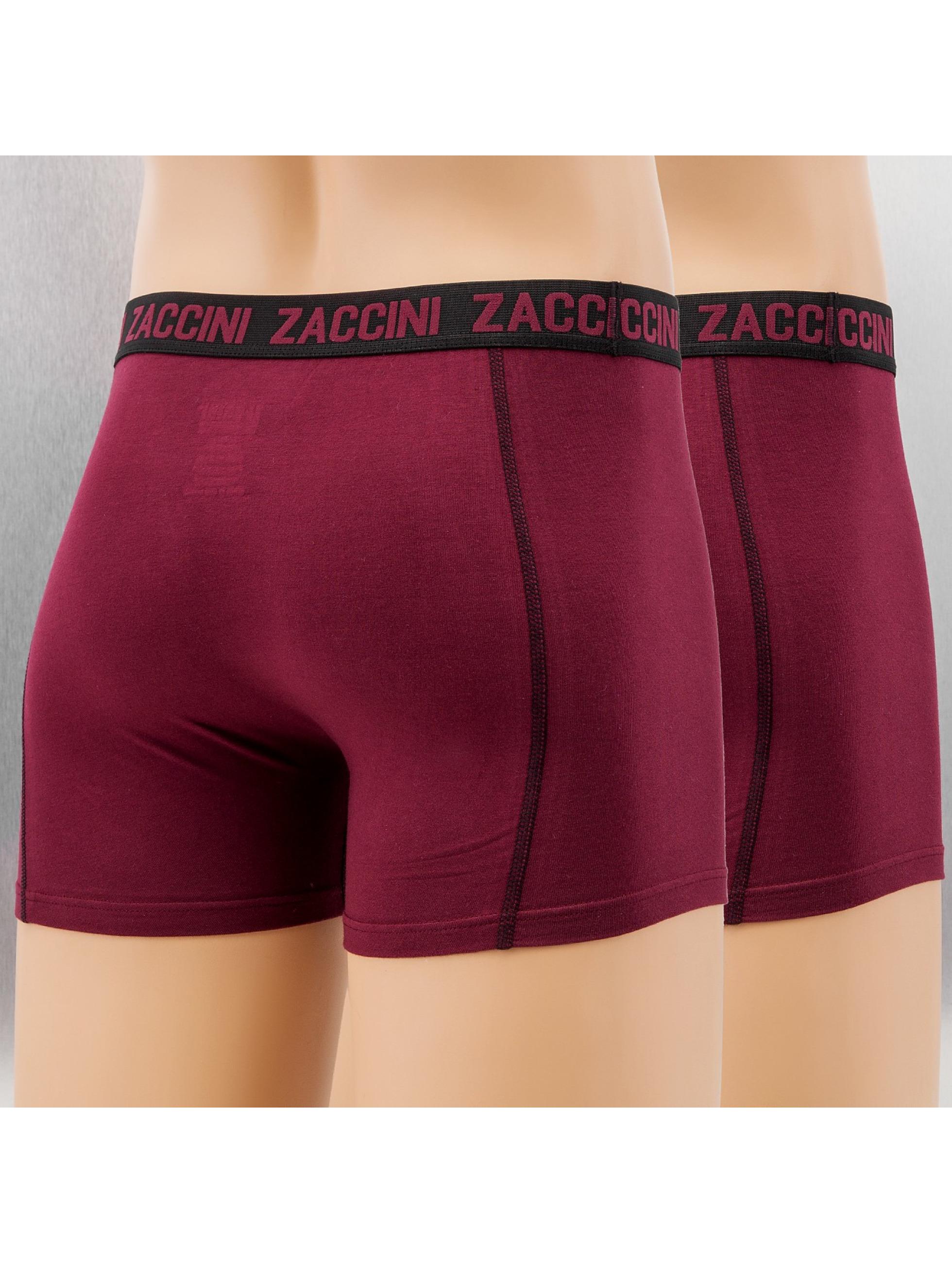 Zaccini boxershorts Uni 2-Pack rood