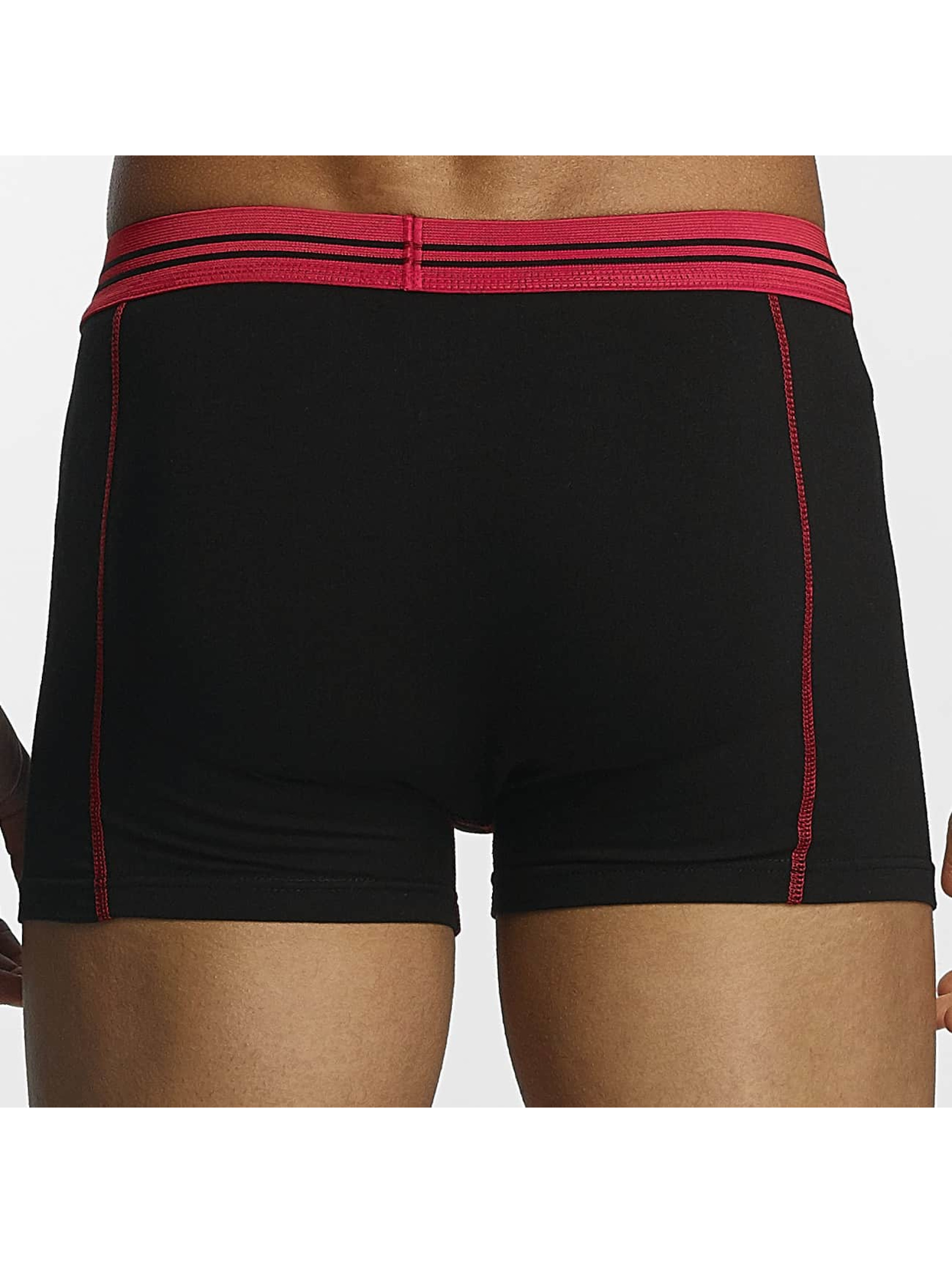 Zaccini Boxershorts Stripe 2-Pack rot