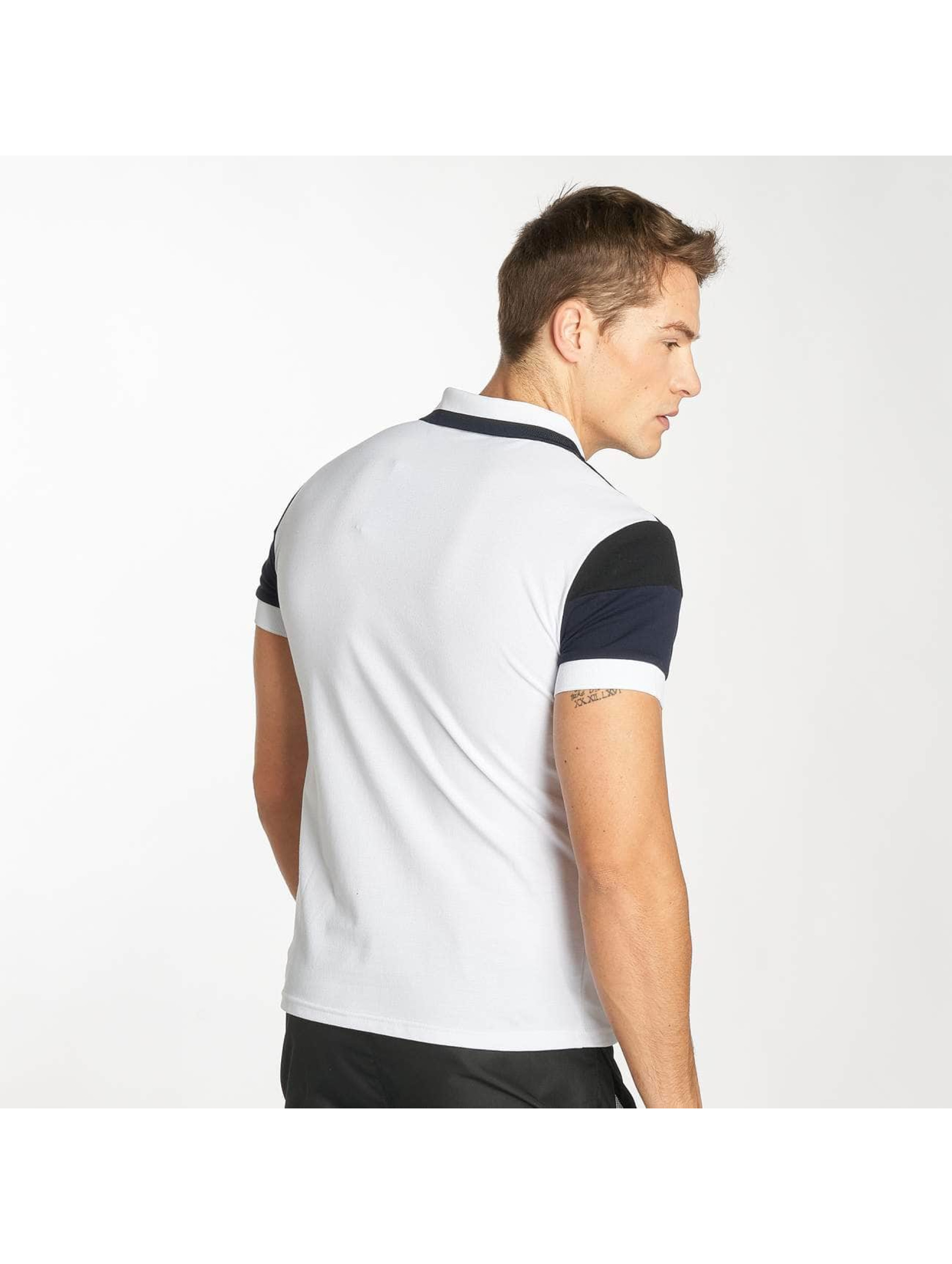 Zayne Paris Camiseta polo Stripe blanco
