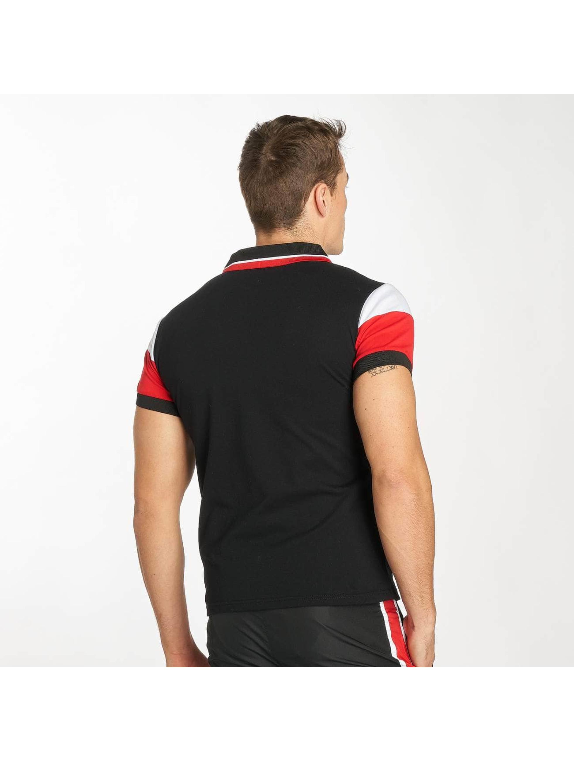 Zayne Paris Camiseta polo Stripe negro