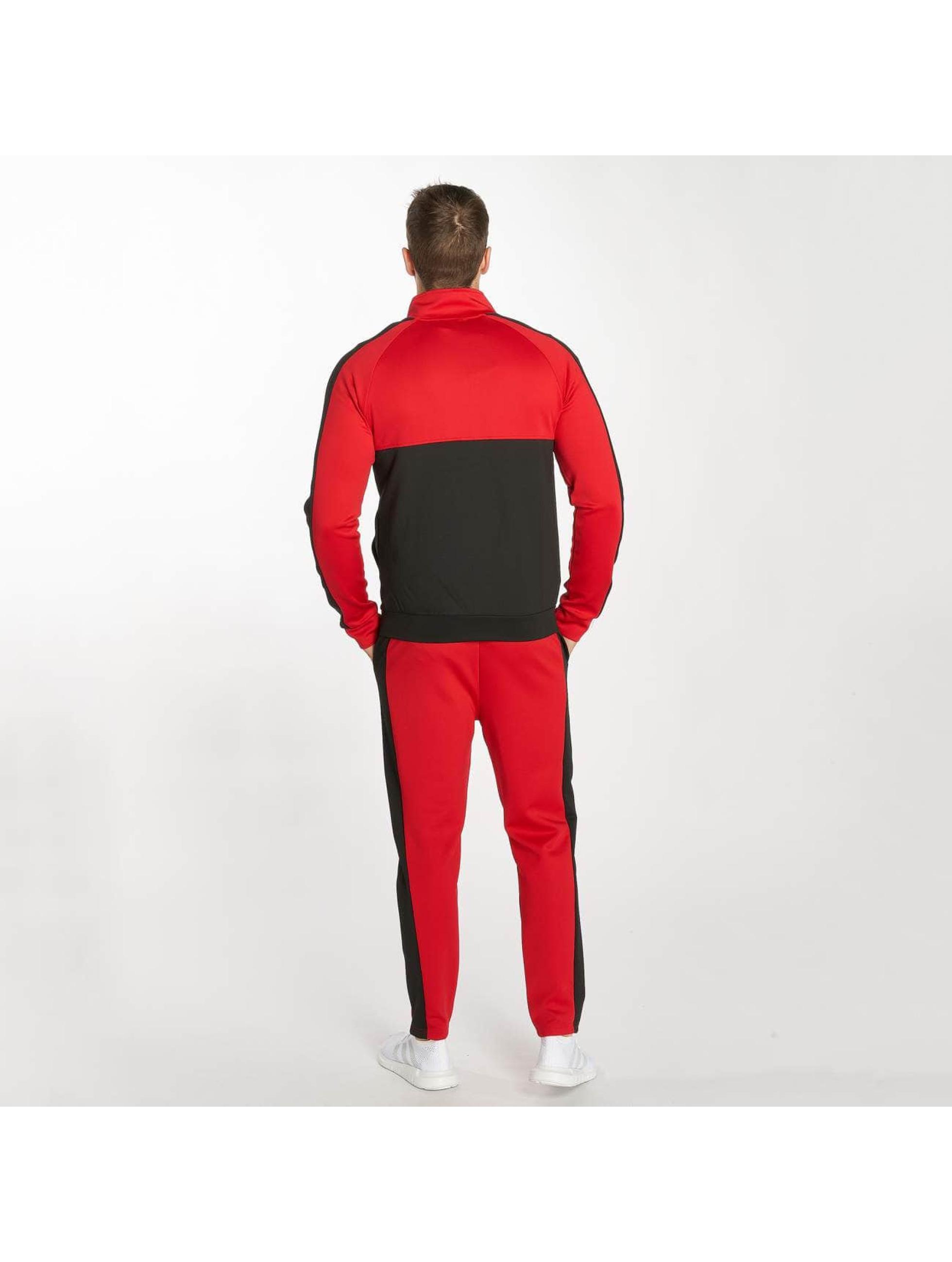Zayne Paris Joggingsæt Two-Tone rød
