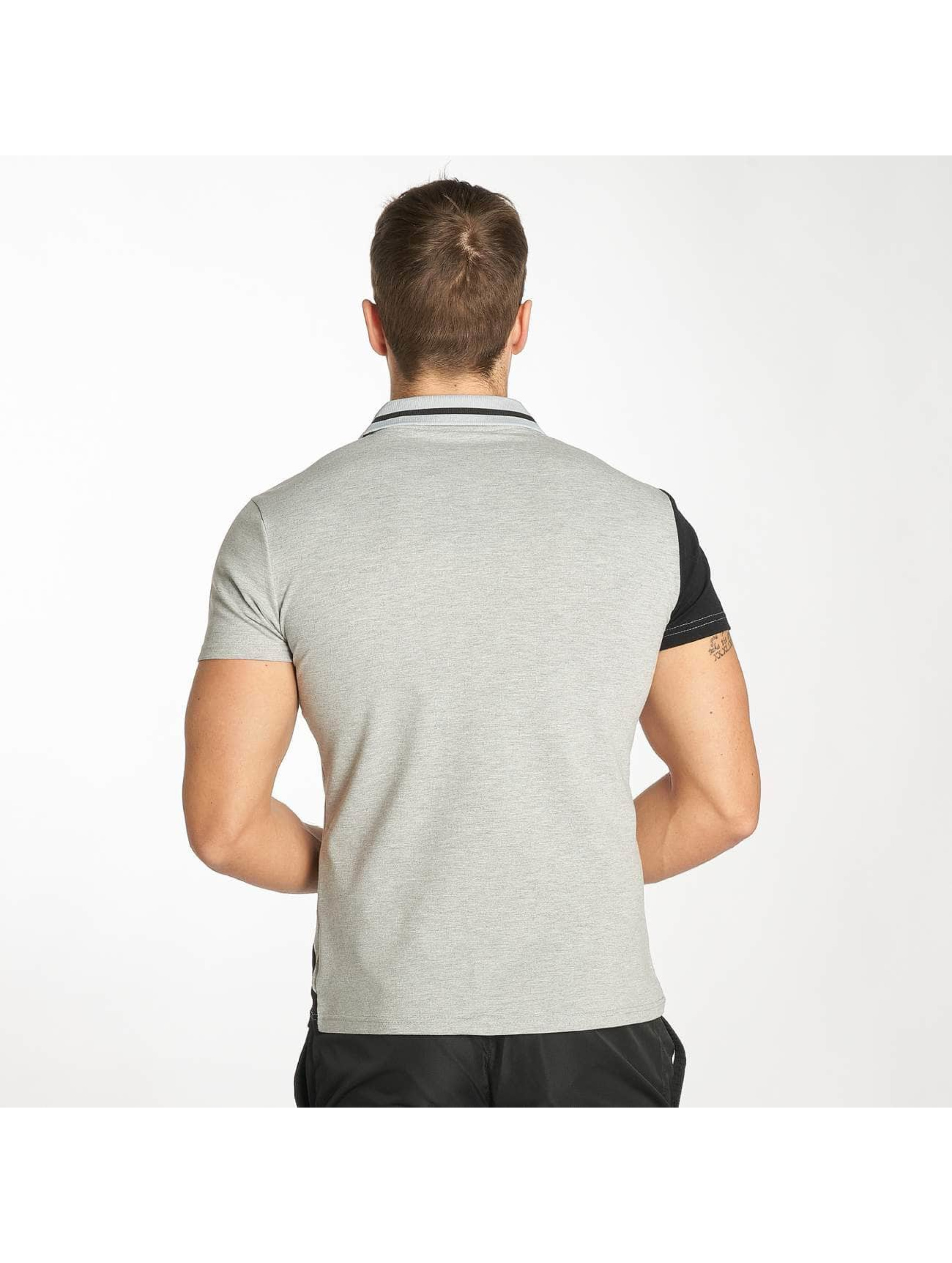 Zayne Paris Polo Stripe grigio
