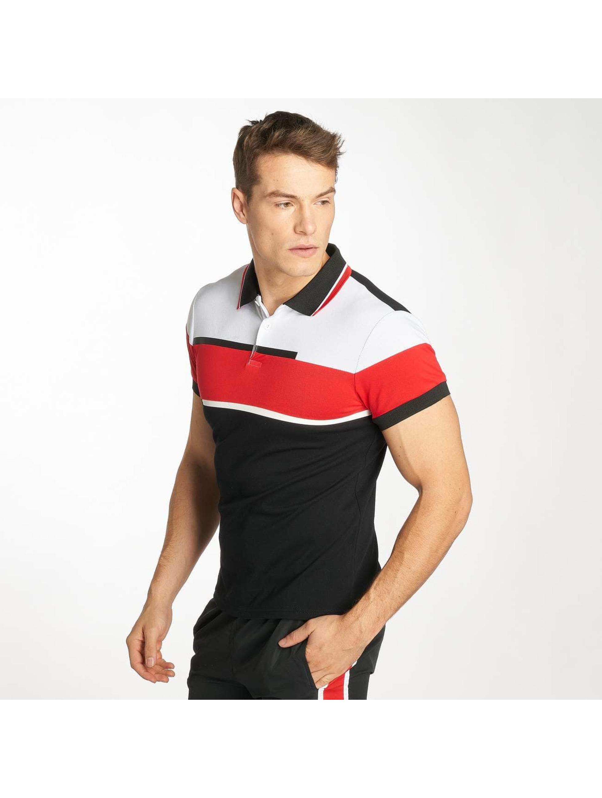 Zayne Paris Poloshirt Stripe schwarz