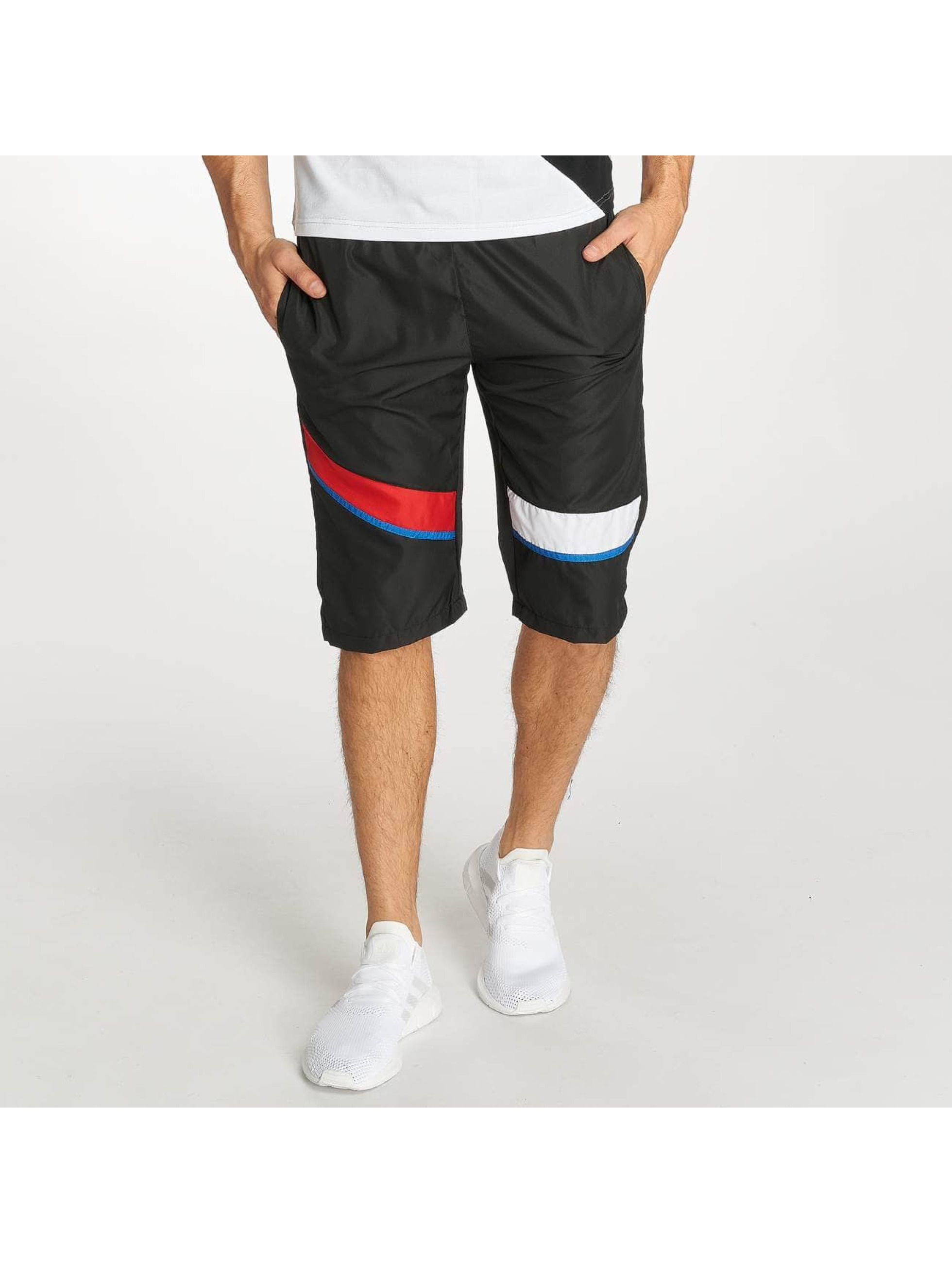 Zayne Paris Shorts Stripe schwarz