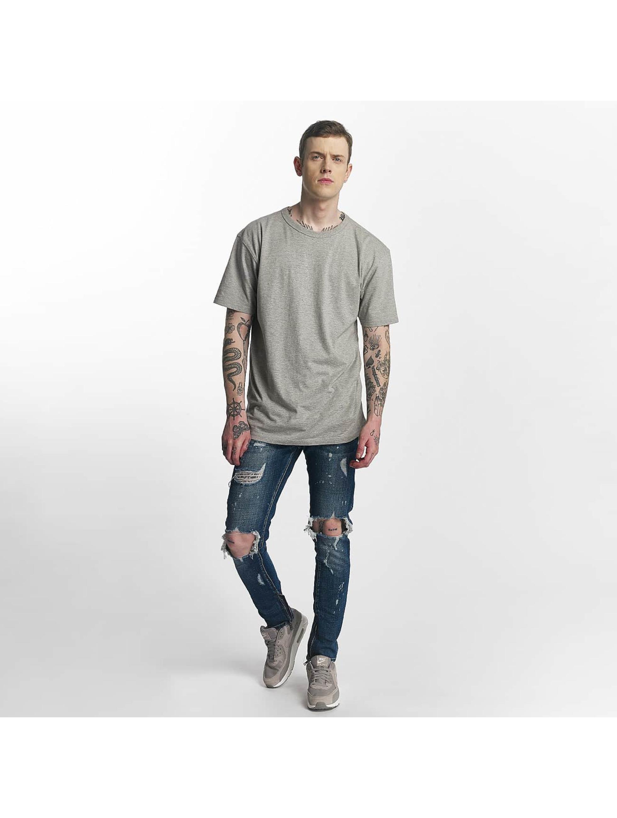 Zayne Paris Straight fit jeans Nantes blauw