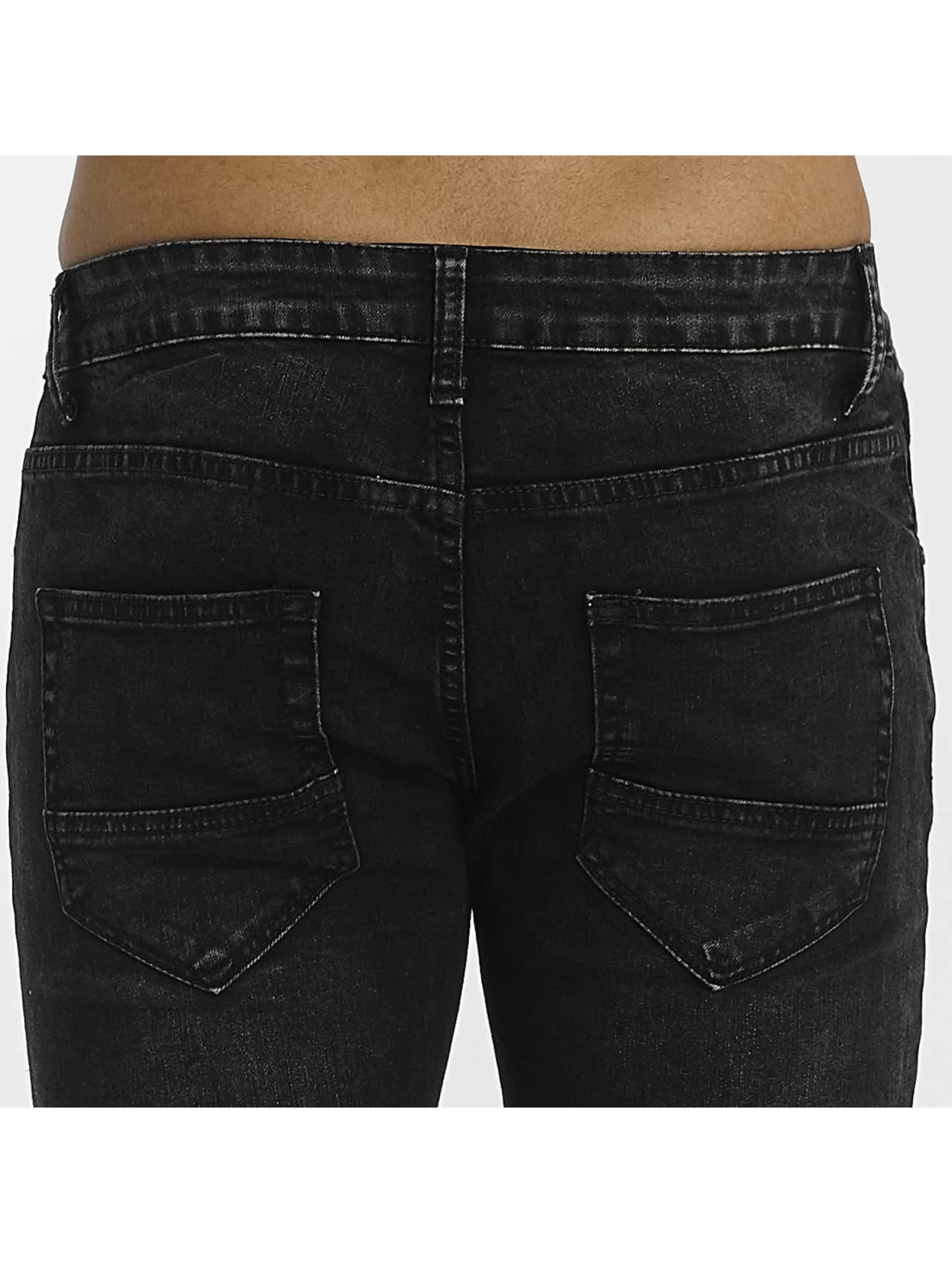 Zayne Paris Straight fit jeans Nizza zwart