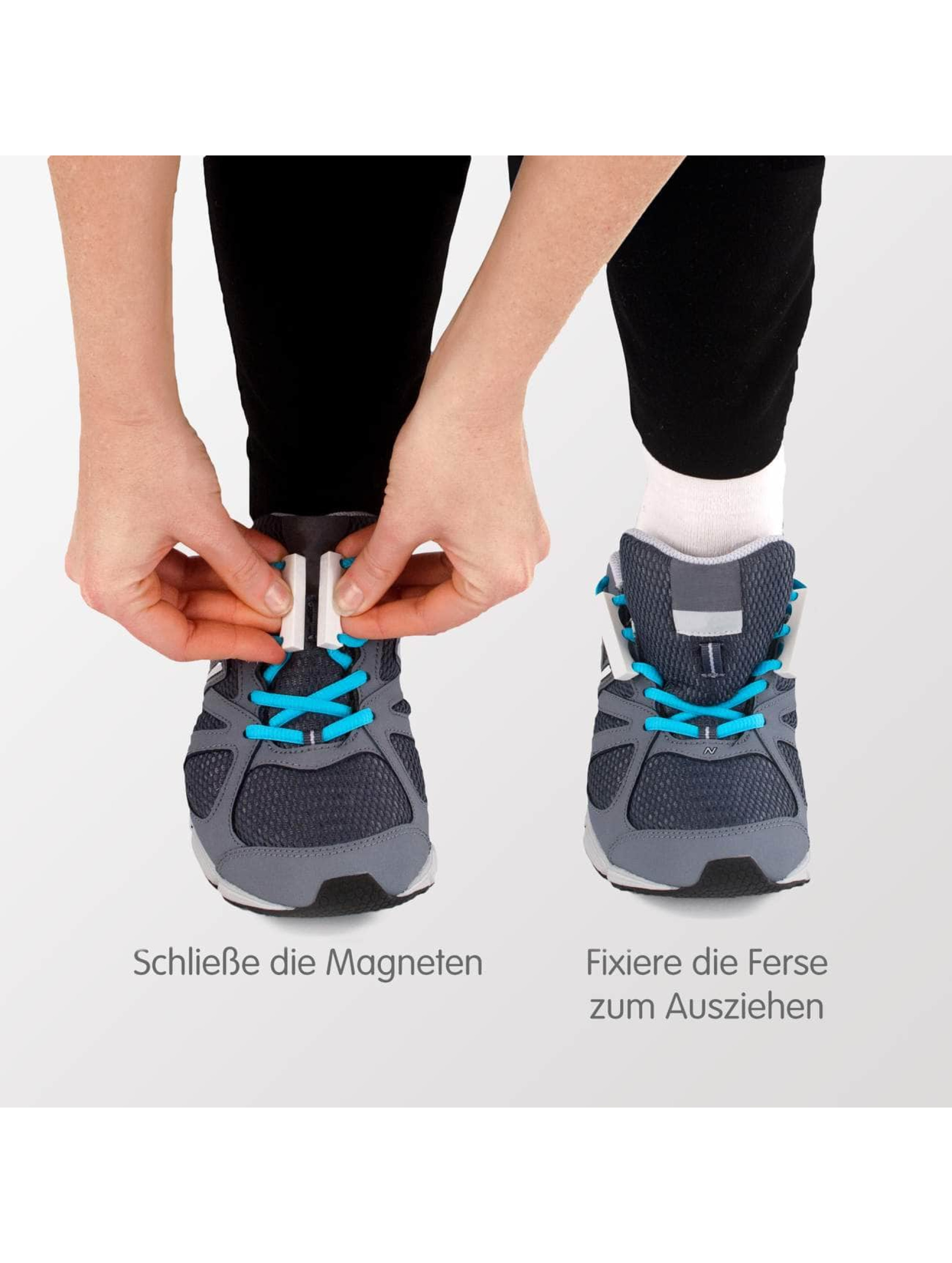 Zubits Shoelace Magnetic gray