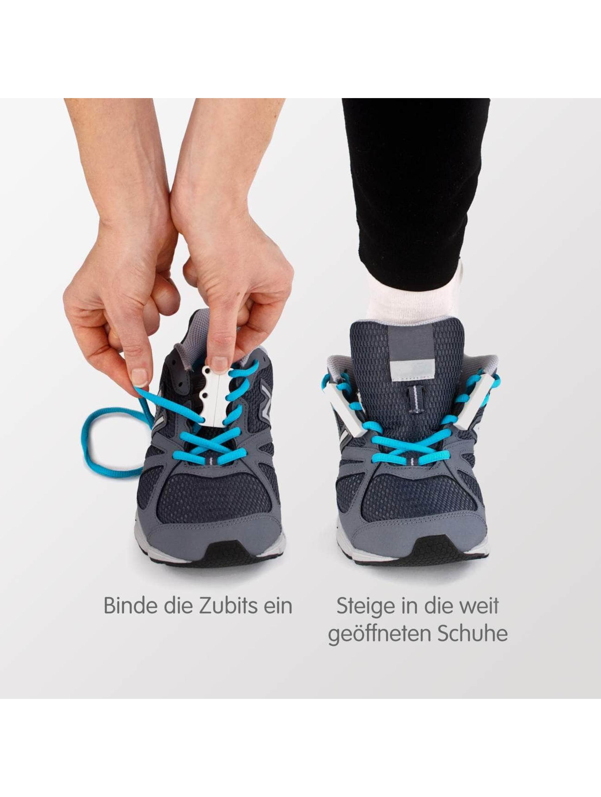 Zubits Shoelace Magnetic grey