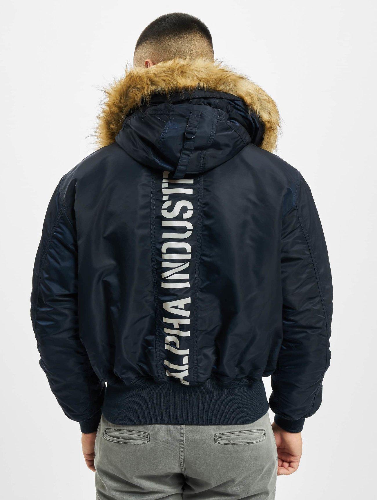 Alpha Industries     bleu Homme Manteau hiver  57956  Homme Manteaux & Vestes