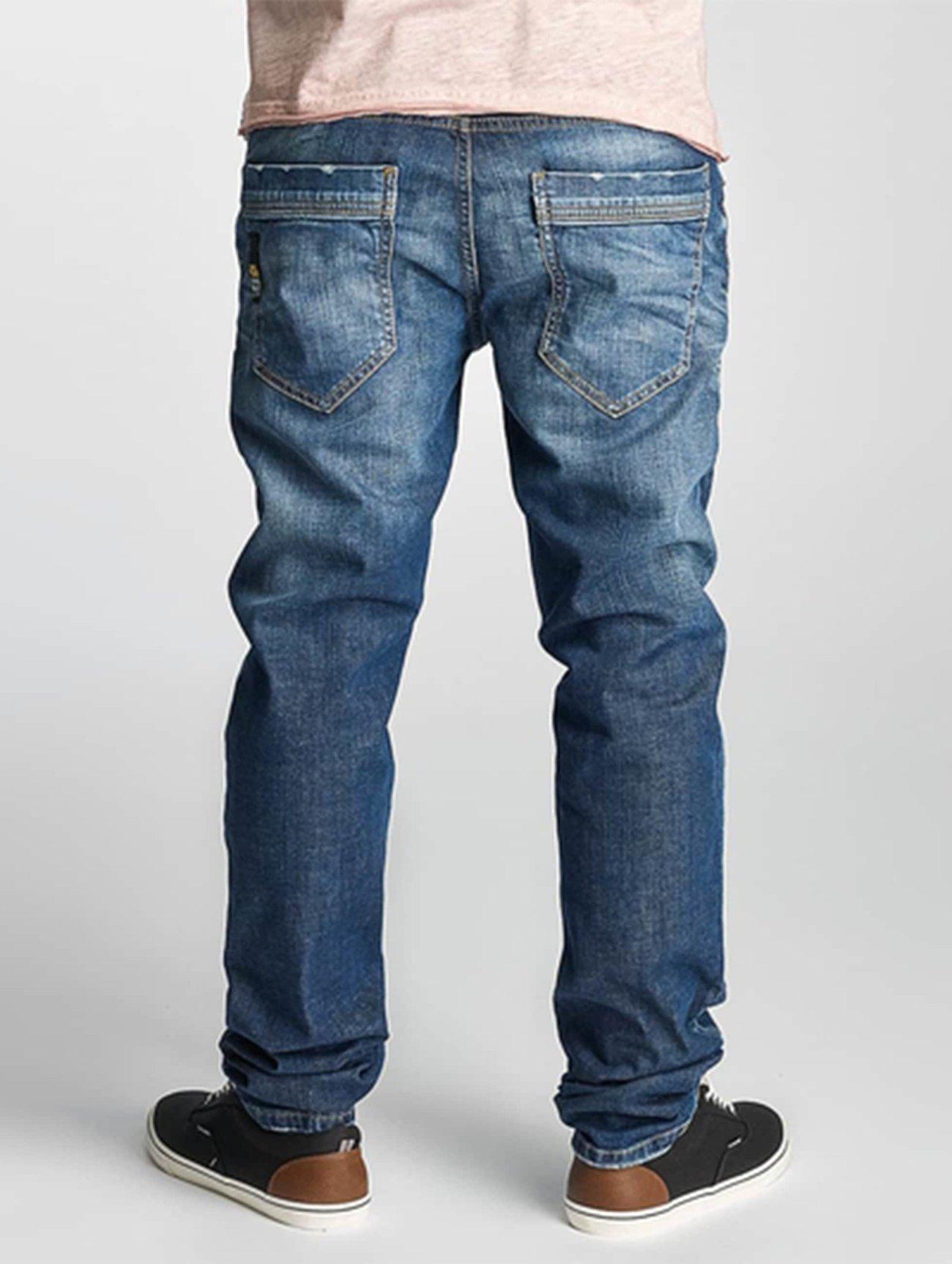 Cipo & Baxx  Engels   bleu Homme Jean coupe droite  357189 Homme Jeans