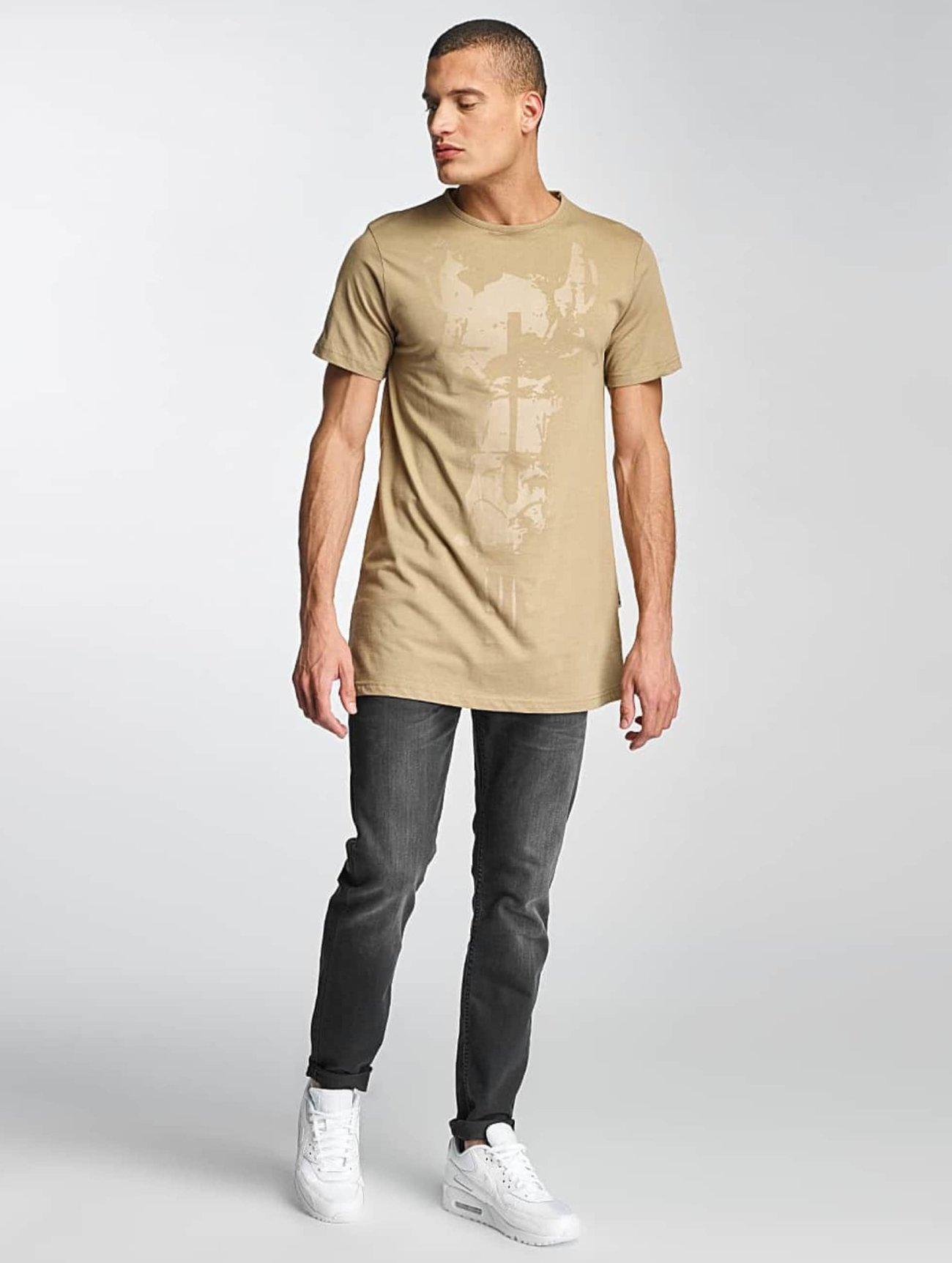 De Ferro | Streets   beige Homme T-Shirt  331662| Homme Hauts