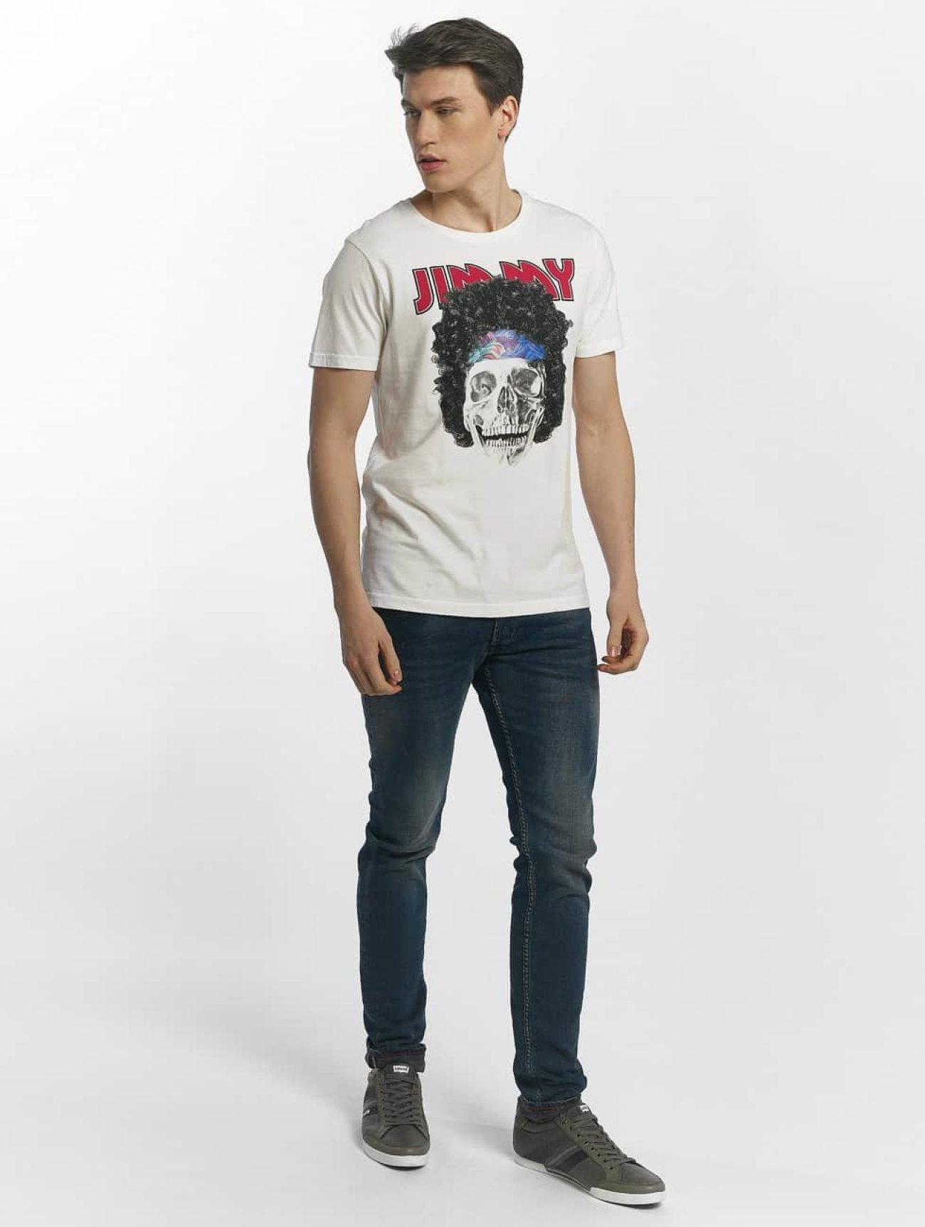 Le Temps Des Cerises   Jack blanc Homme T-Shirt 468138  Homme Hauts
