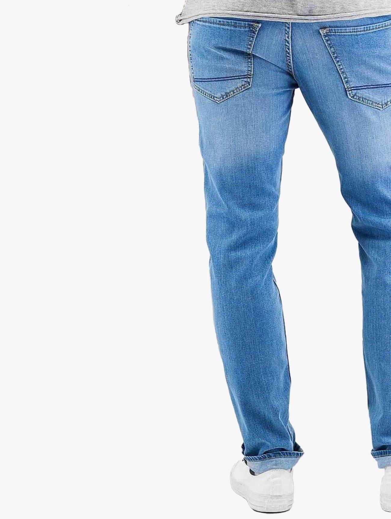 Reell Jeans  Nova II  bleu Homme Jean coupe droite  251001 Homme Jeans