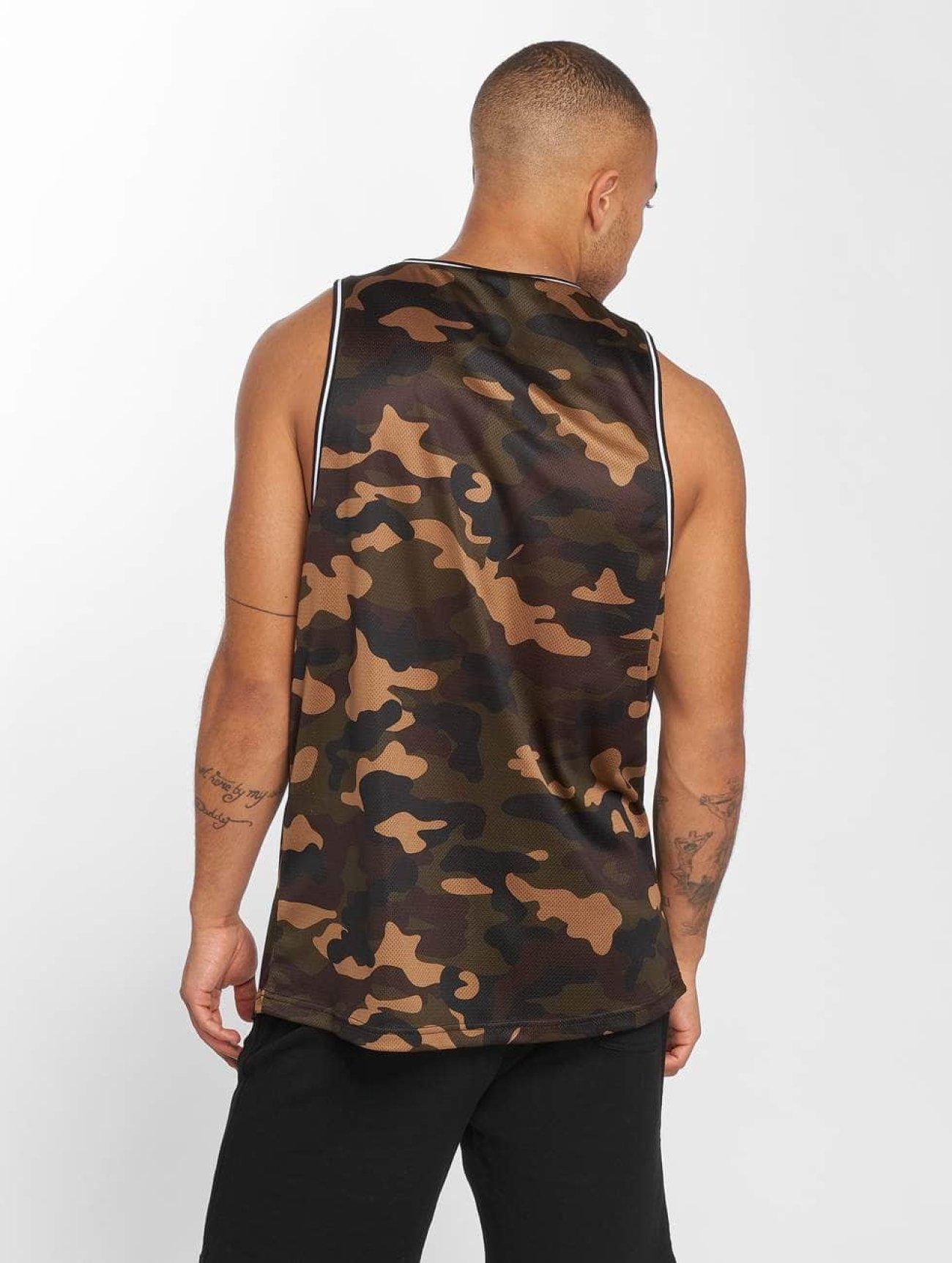 Urban Classics | Camo Mesh  camouflage Homme Débardeur  475717| Homme Hauts