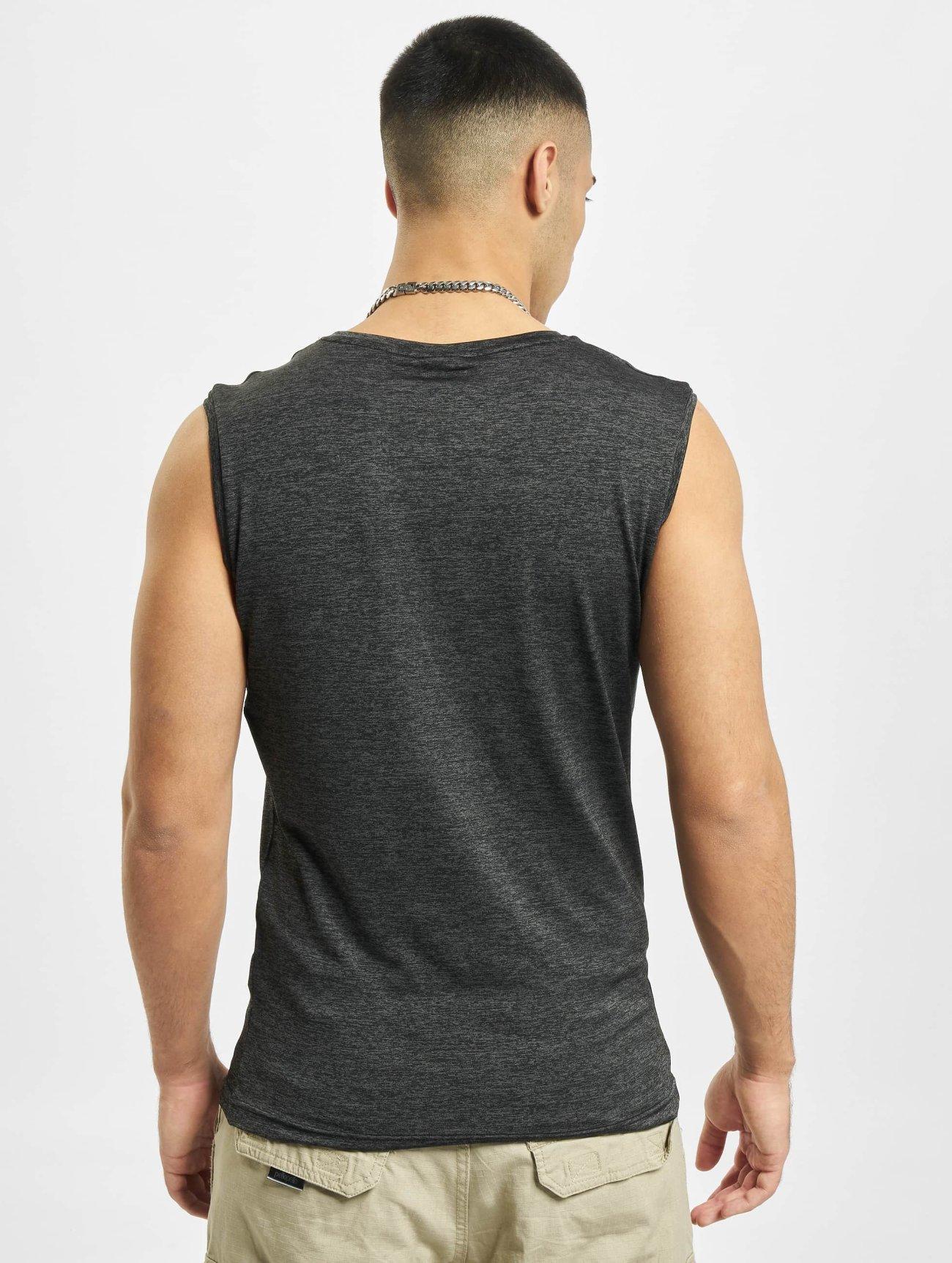 Urban Classics | Active Melange  gris Homme Débardeur  399300| Homme Hauts