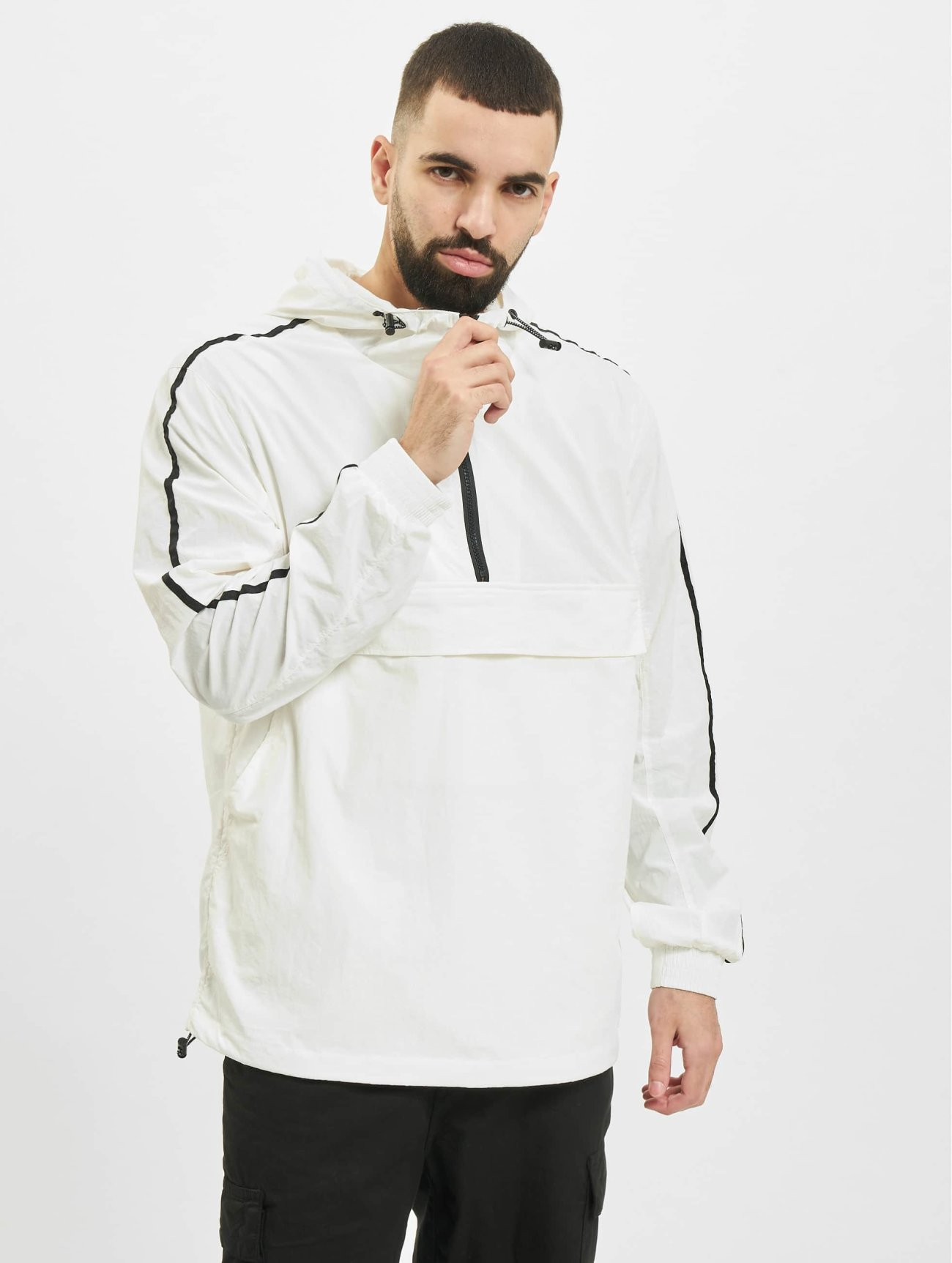 Urban Classics | Crinkle Nylon  blanc Homme Veste mi-saison légère  476046| Homme Manteaux & Vestes