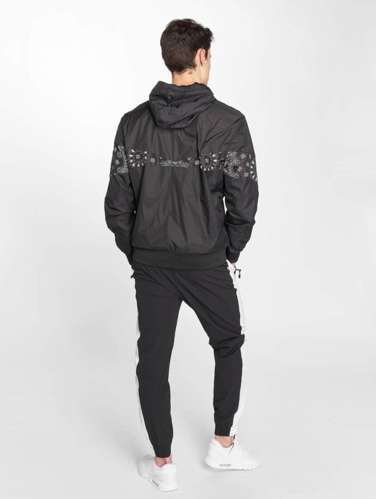 Urban Classics | Advanced Arrow  noir Homme Veste mi-saison légère  476143| Homme Manteaux & Vestes