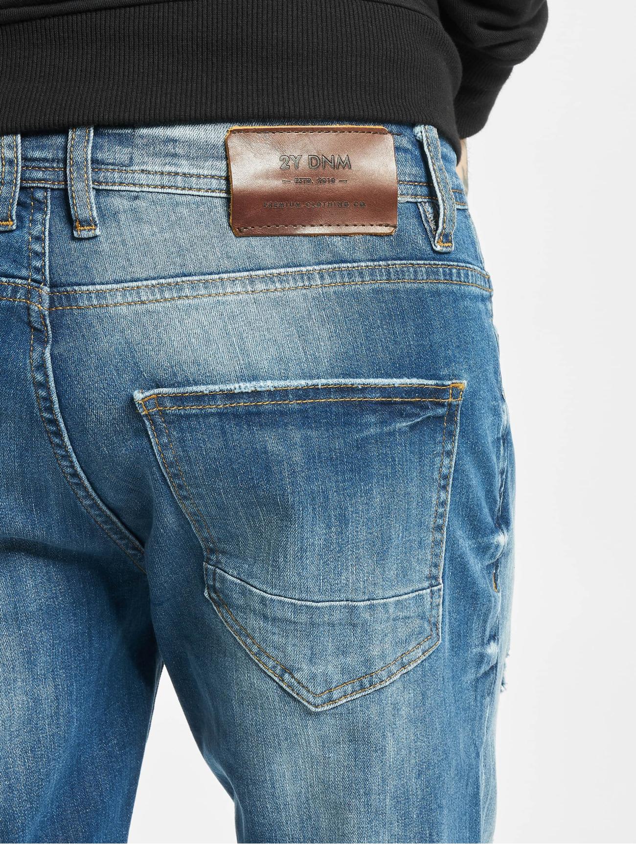 2Y  Okan  bleu Homme Jean slim  726636 Homme Jeans