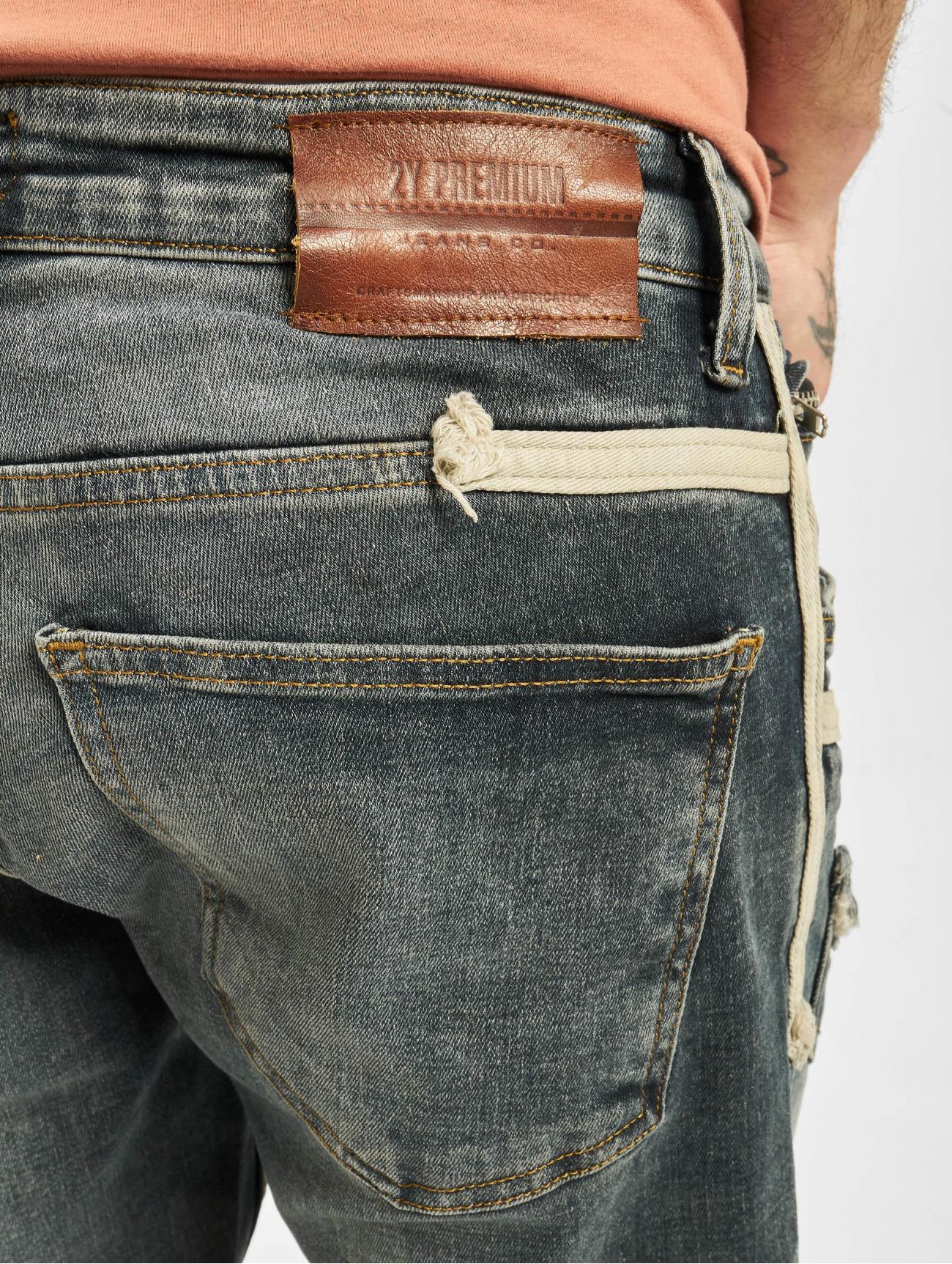 2Y  Malik   gris Homme Jean slim  718470 Homme Jeans
