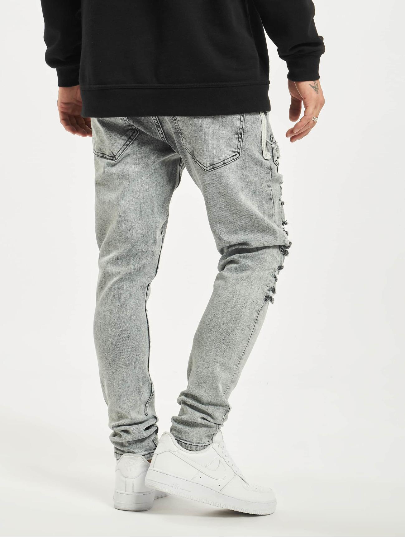 2Y  Malik   gris Homme Jean slim  718477 Homme Jeans