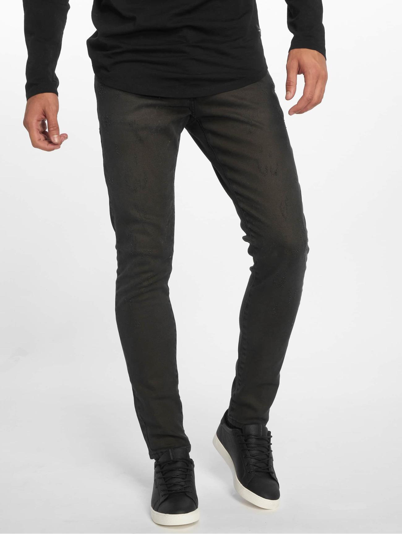 2Y Terry noir Homme Jean slim 639047 Homme Jeans