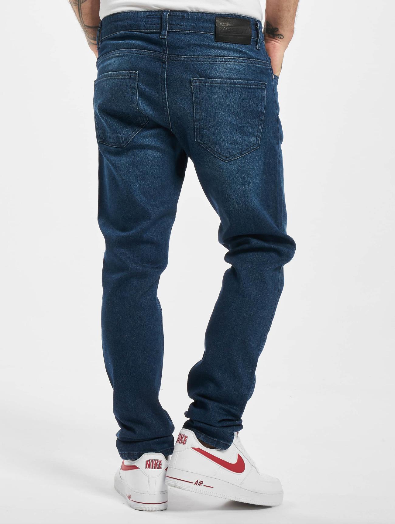 2Y Jeans / Slim Fit Jeans Sergio  i blå 765235 Män Jeans