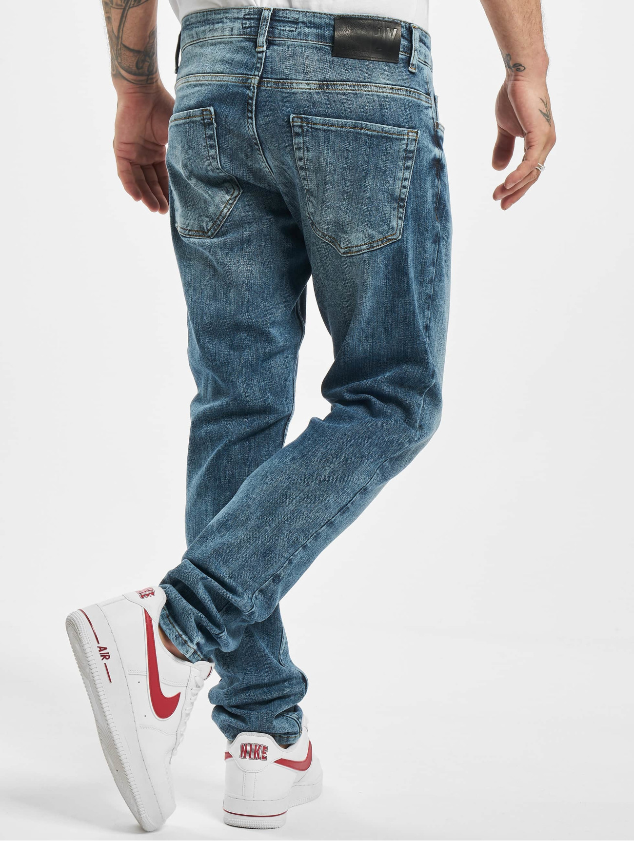 2Y Jeans / Slim Fit Jeans Mariano  i blå 765237 Män Jeans