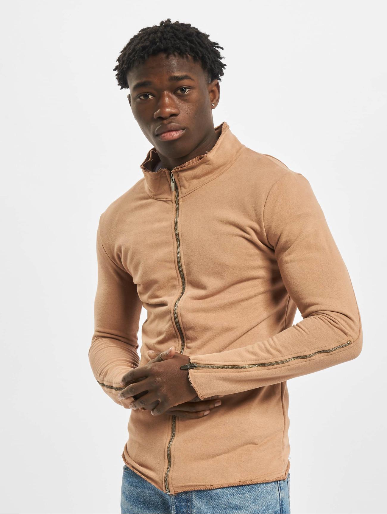 2Y   Sweat   brun Homme Veste mi-saison légère  314079  Homme Manteaux & Vestes