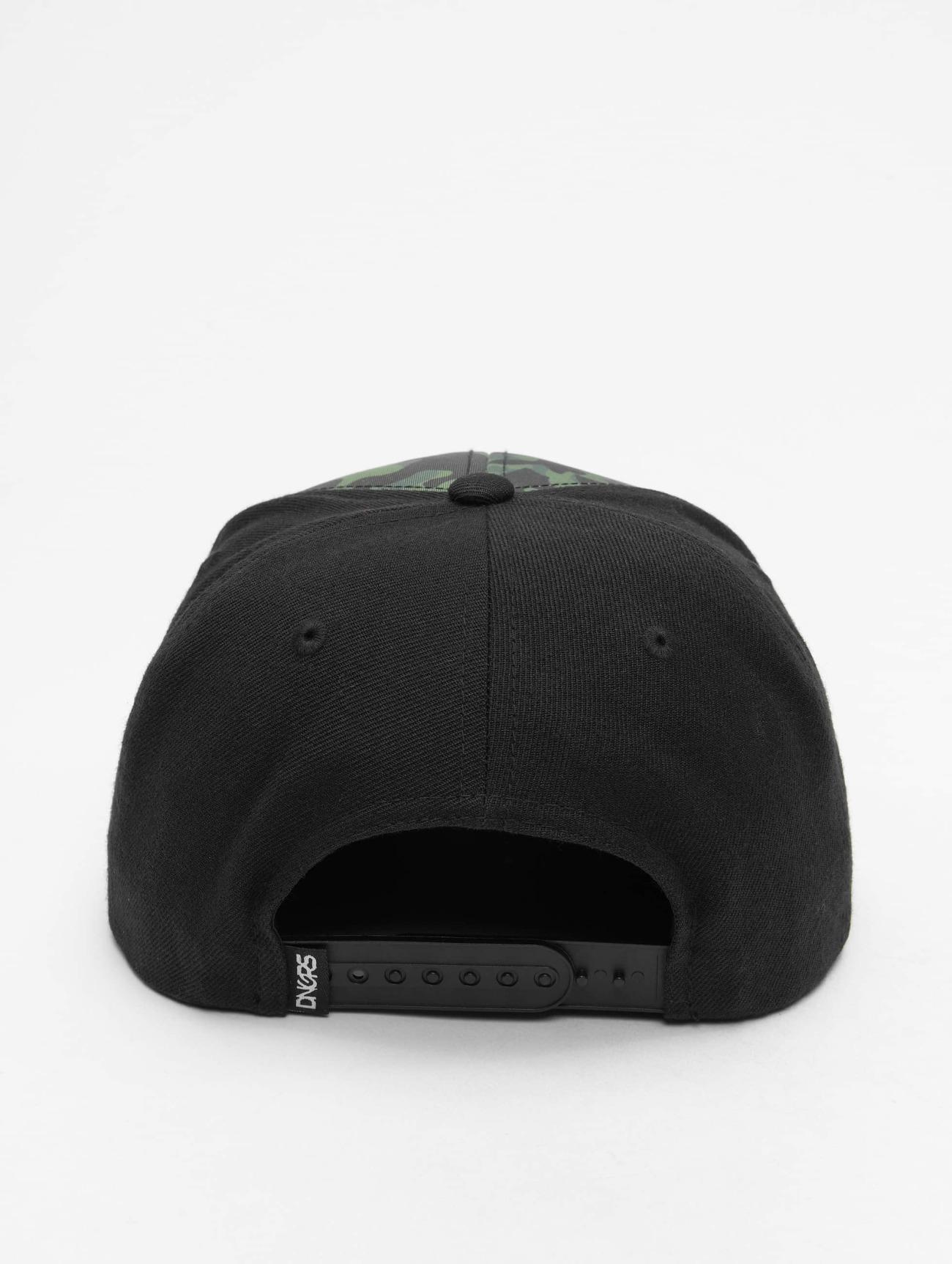 Dangerous DNGRS  Camo  noir  Casquette Snapback & Strapback  330762 Homme Casquettes
