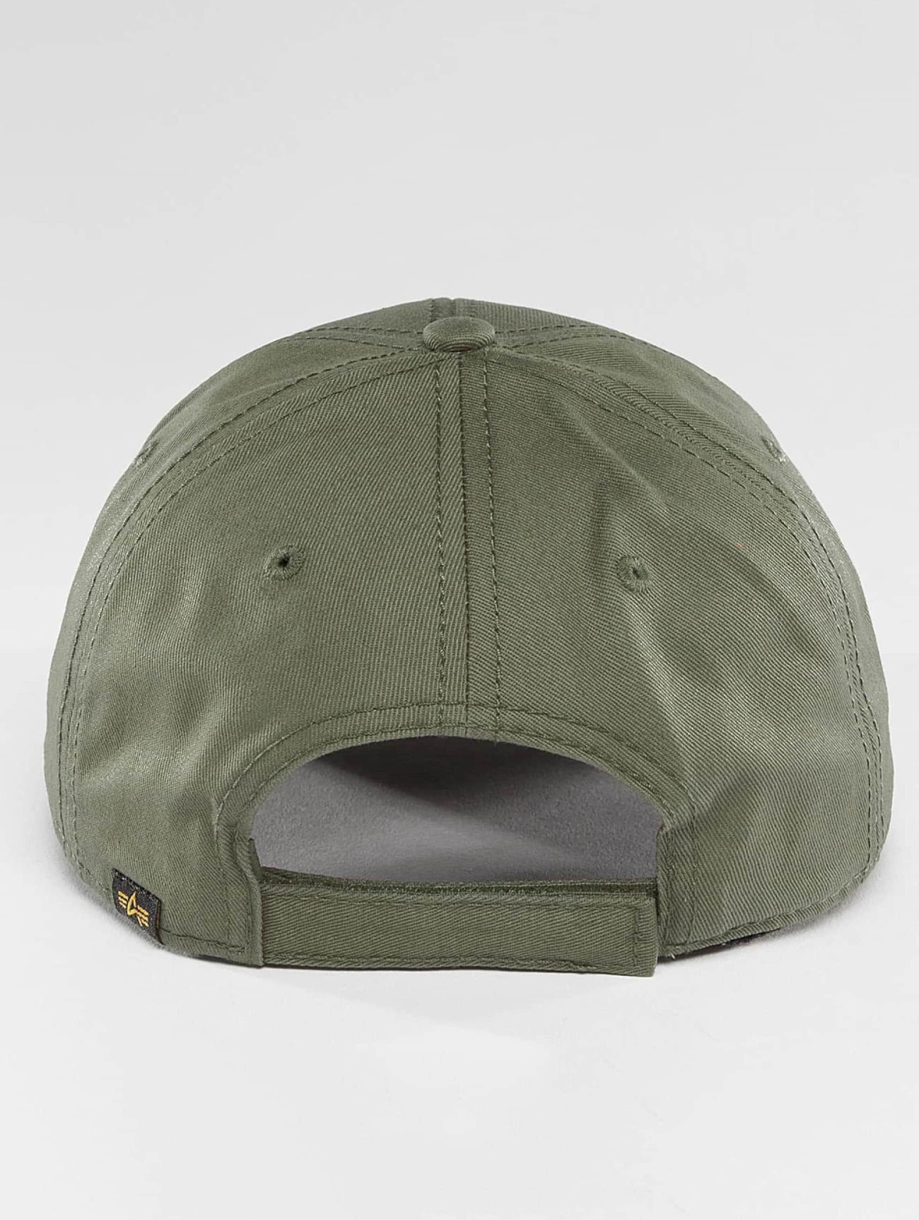 Alpha Industries  Velcro   vert  Casquette Snapback & Strapback  376527 Homme Casquettes