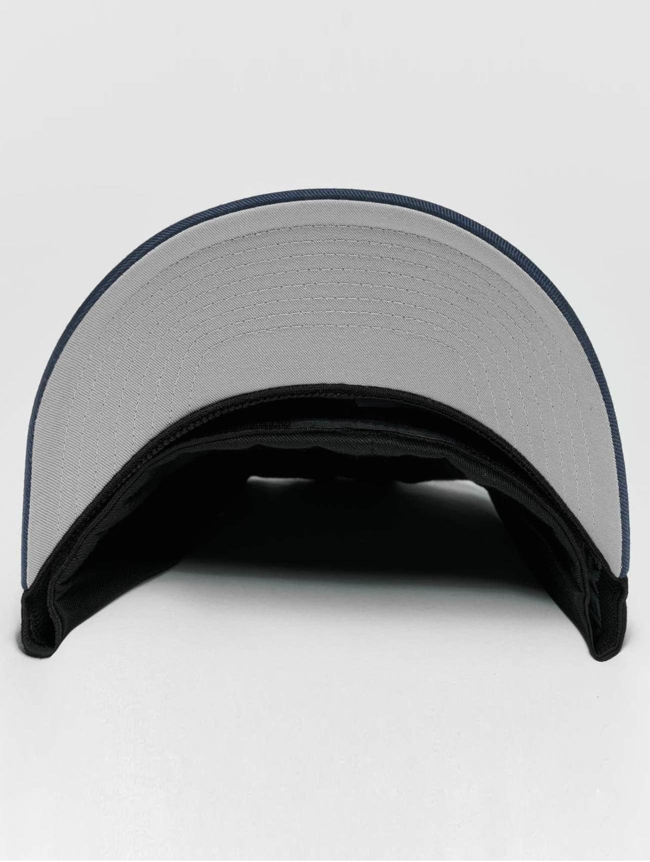 Flexfit  2-Tone Wooly Combed  noir  Casquette Flex Fitted  478128 Homme Casquettes