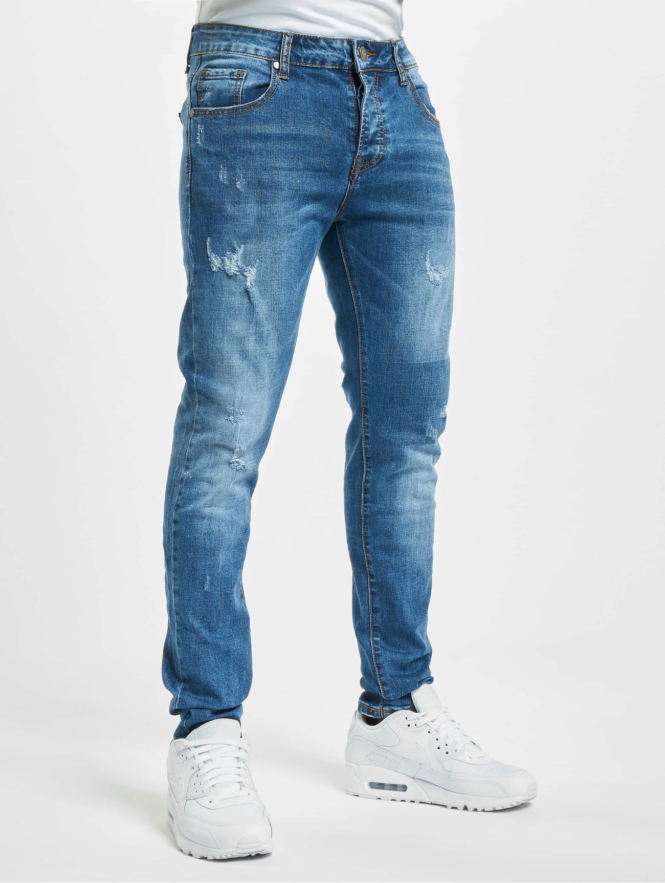 Aarhon  Cutz  bleu Homme Jean skinny  773686 Homme Jeans
