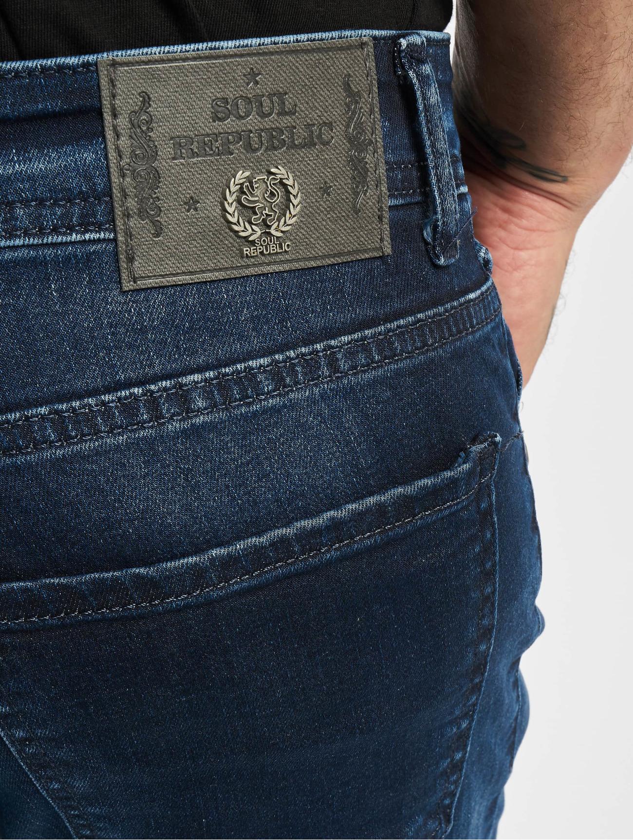 Aarhon  Mick   bleu Homme Jean skinny  773702 Homme Jeans