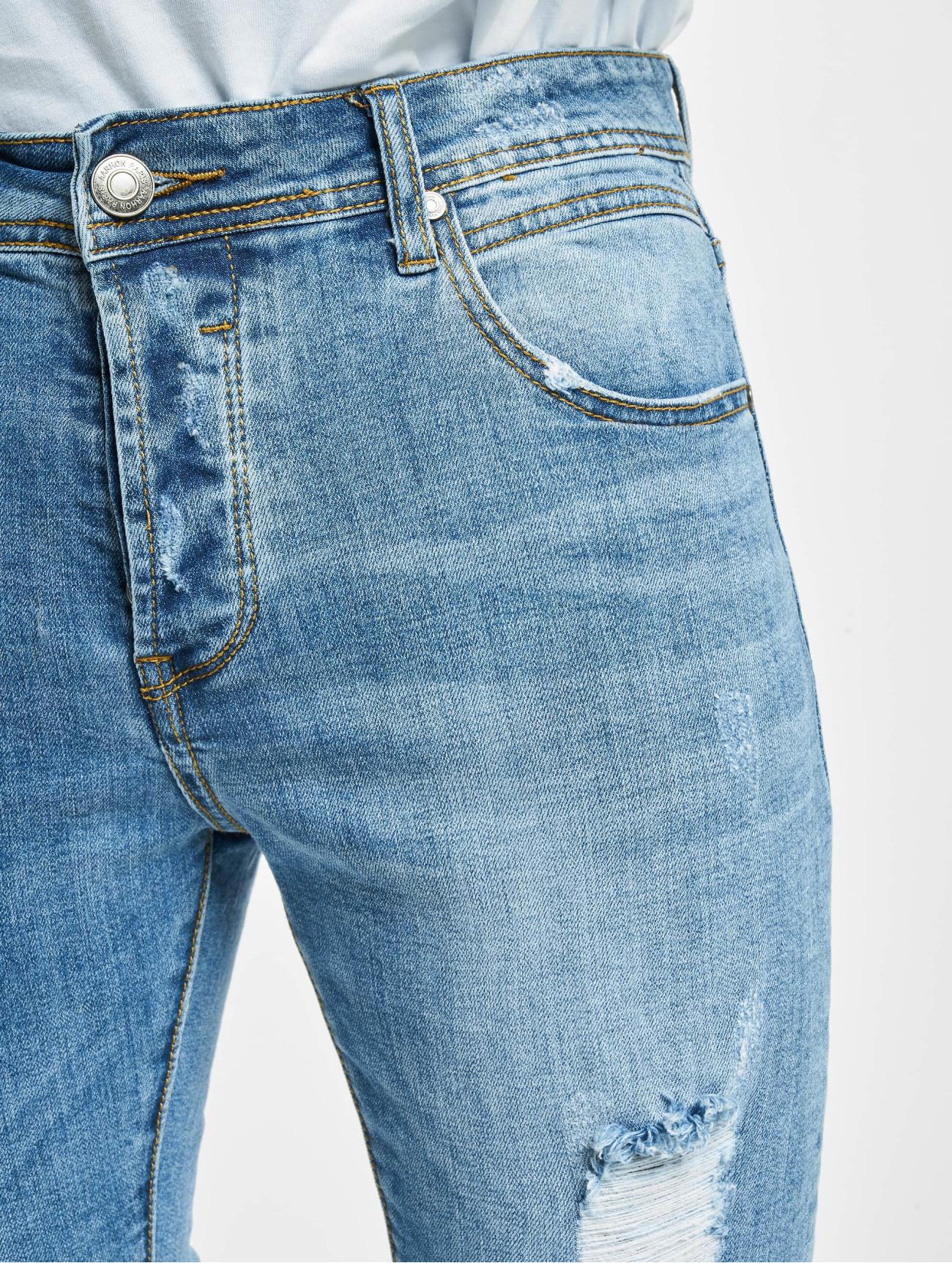 Aarhon  Spencer  bleu Homme Jean slim  773687 Homme Jeans