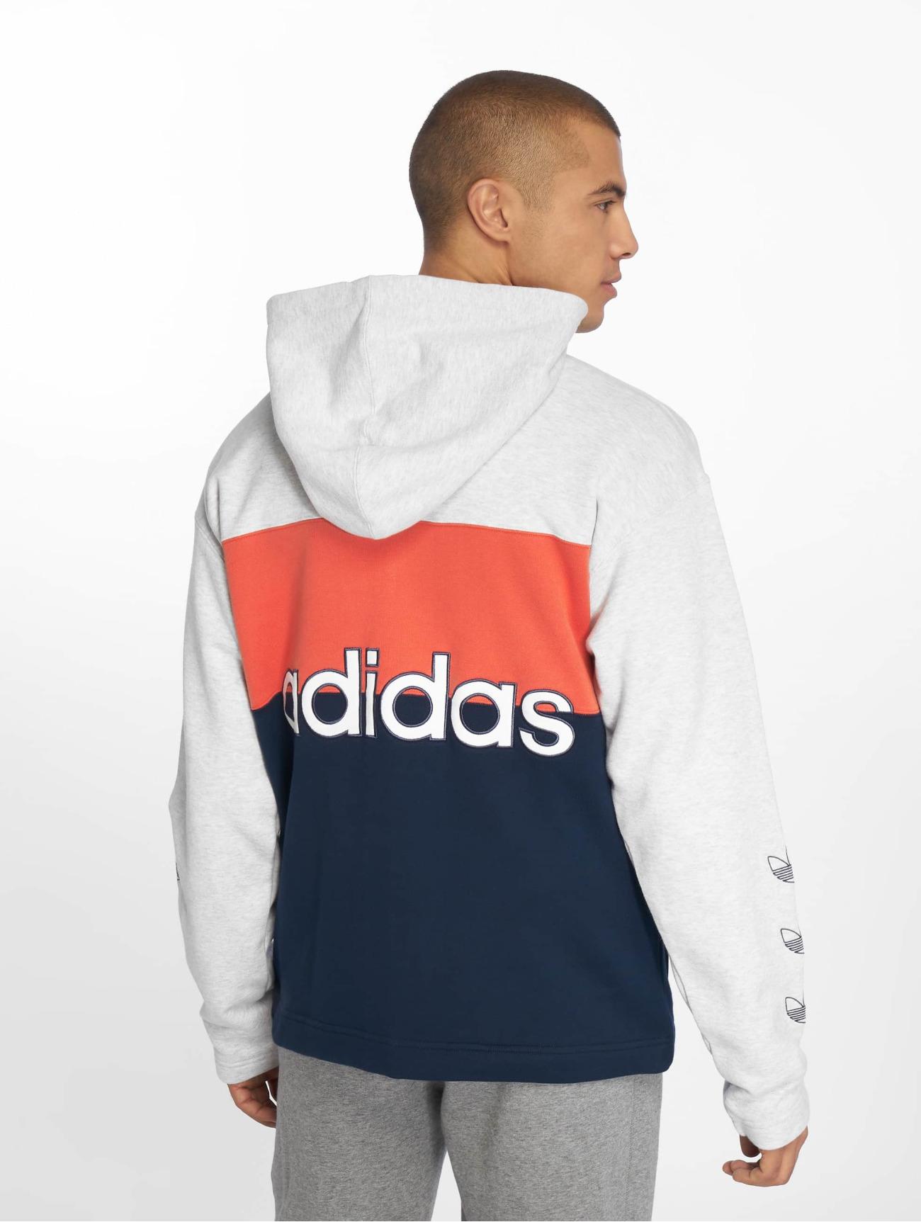 adidas Originals |  Originals  gris Homme Sweat capuche zippé  543597| Homme Hauts